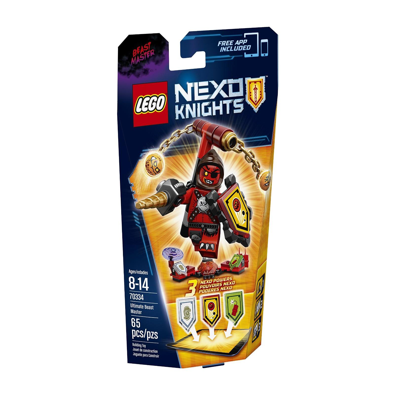 Конструктор LEGO Nexo Knights Предводитель монстров Абсолютная сила (70334)