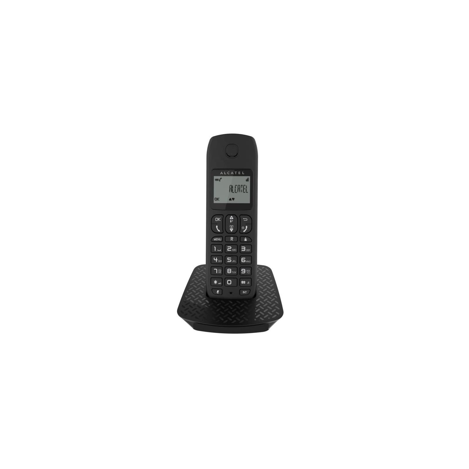 Телефон DECT Alcatel E132 Black (3700601414745)