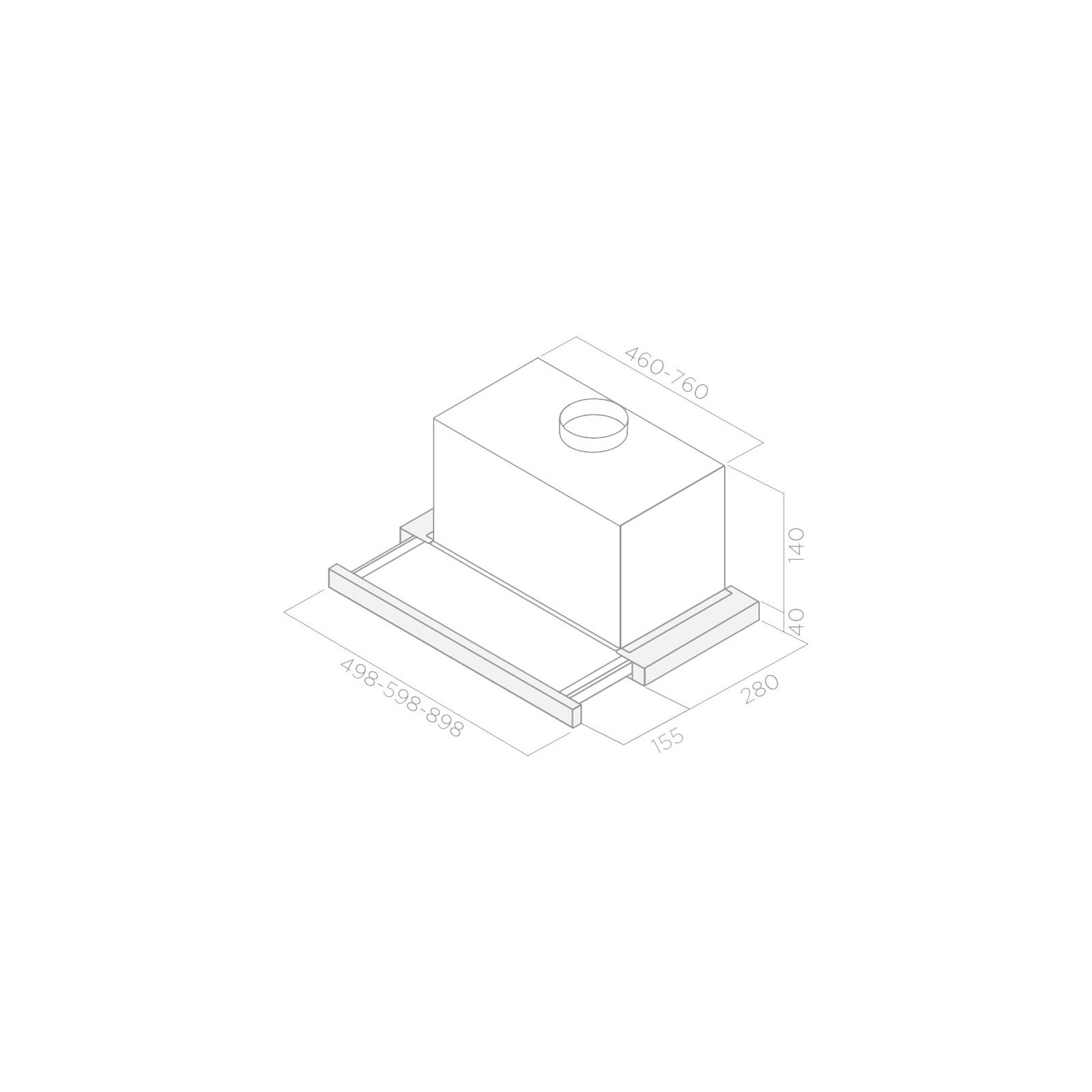 Вытяжка кухонная Elica ELITE 14 LUX GRVT/A/60 изображение 2