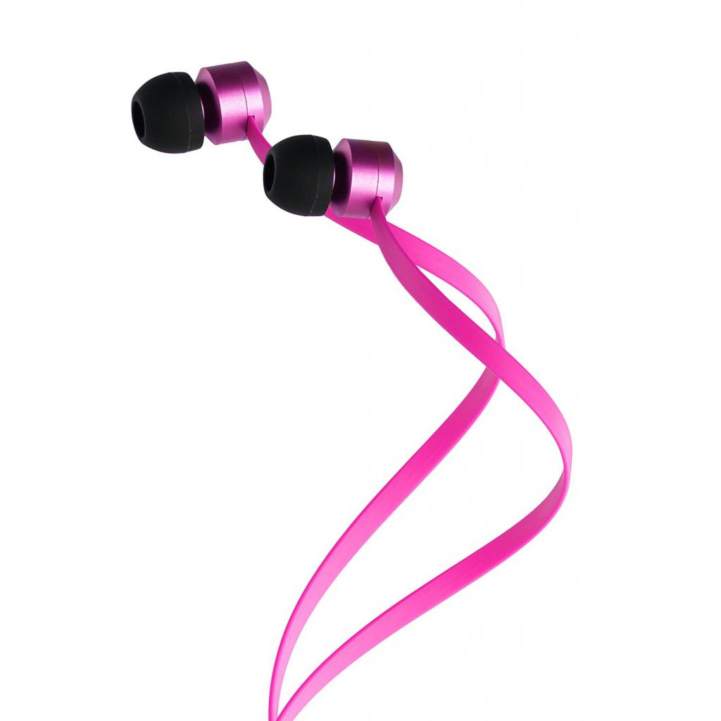 Наушники KitSound KS Ribbons In-Ear Earphones with Mic Pink (KSRIBPI) изображение 5