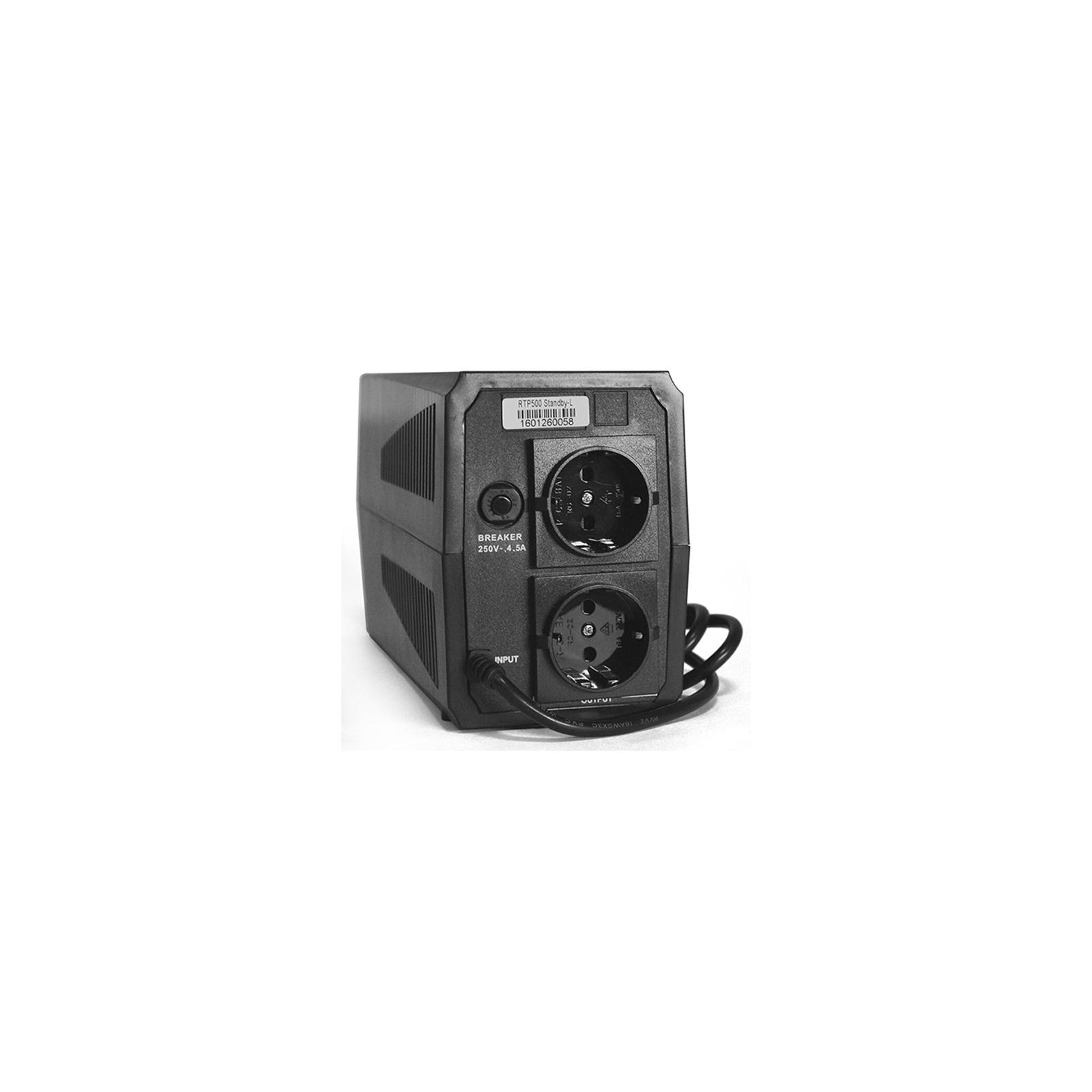 Источник бесперебойного питания Ritar Ritar RTP500 (300W) Standby-L (RTP500L) изображение 2