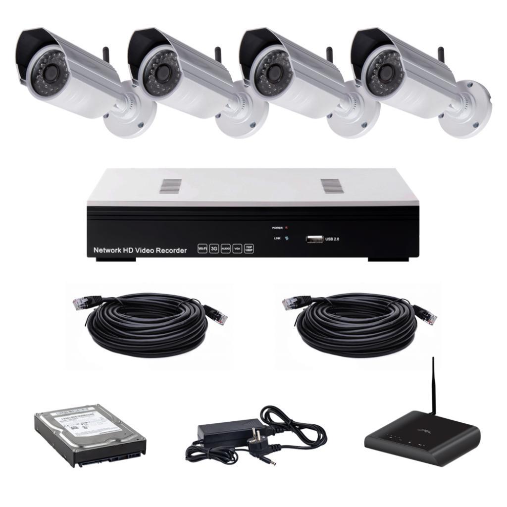 Комплект видеонаблюдения CoVi NVK-3003 WI-FI IP KIT