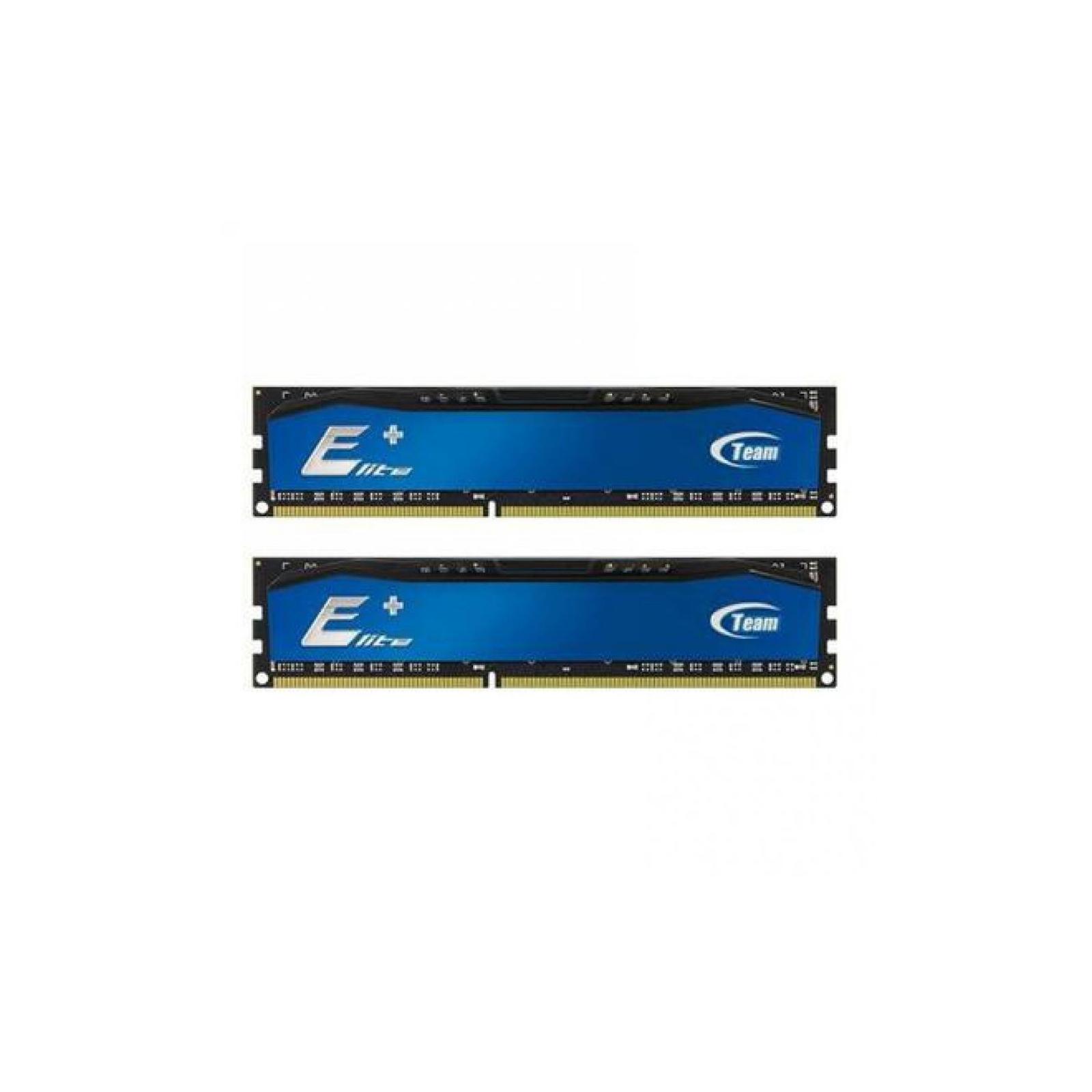Модуль памяти для компьютера DDR4 8GB (2x4GB) 2400 MHz Elite Plus Blue Team (TPBD48G2400HC16DC01)