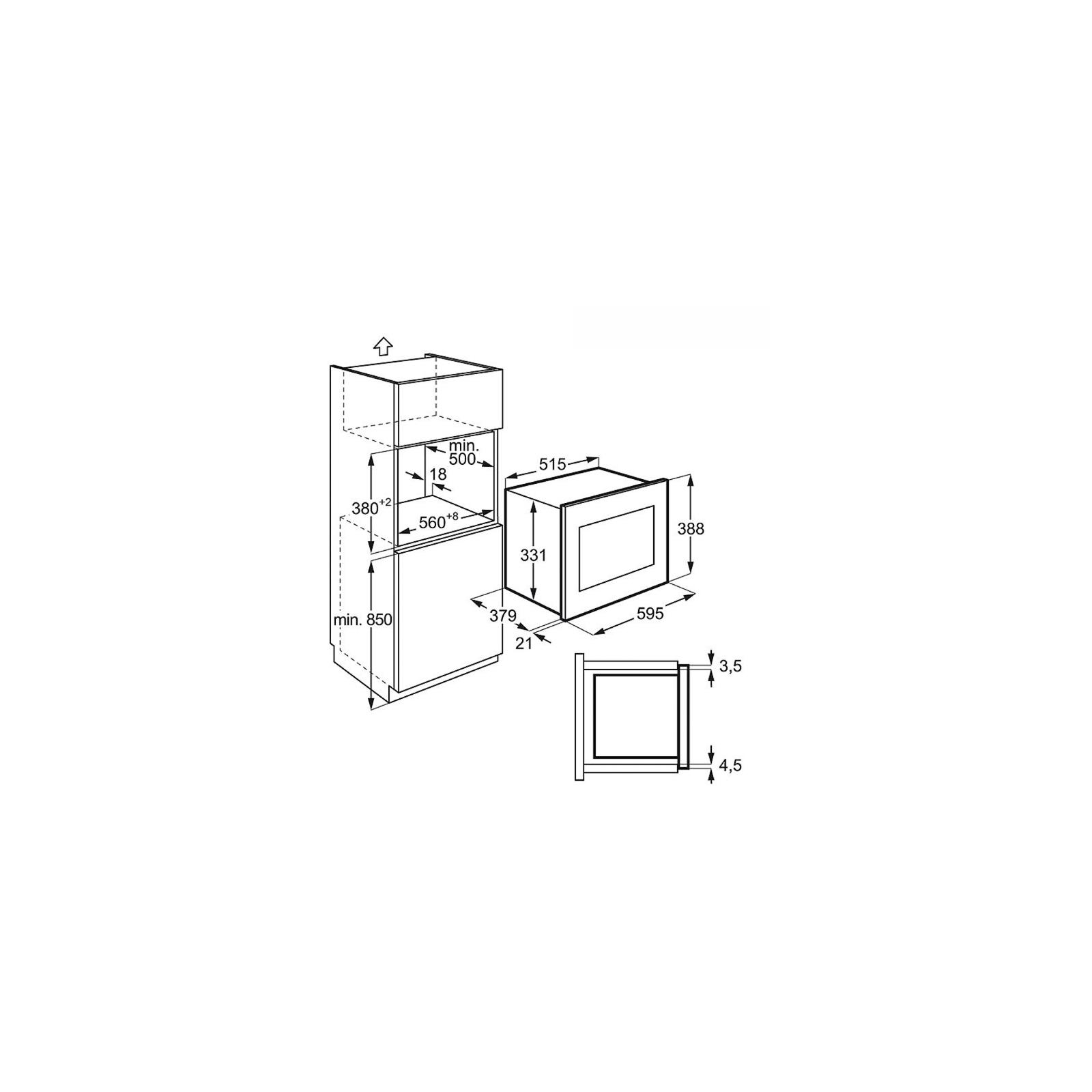 Микроволновая печь ELECTROLUX EMT 25207 OX (EMT25207OX) изображение 2