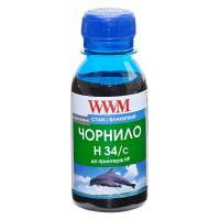Чернила WWM HP № 22/134/136 100г Cyan (H34/C-2)
