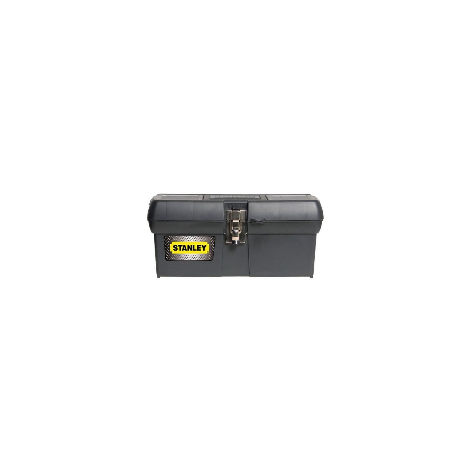 Ящик для инструментов Stanley с металлическим замком (400x209x183мм) (1-94-857)
