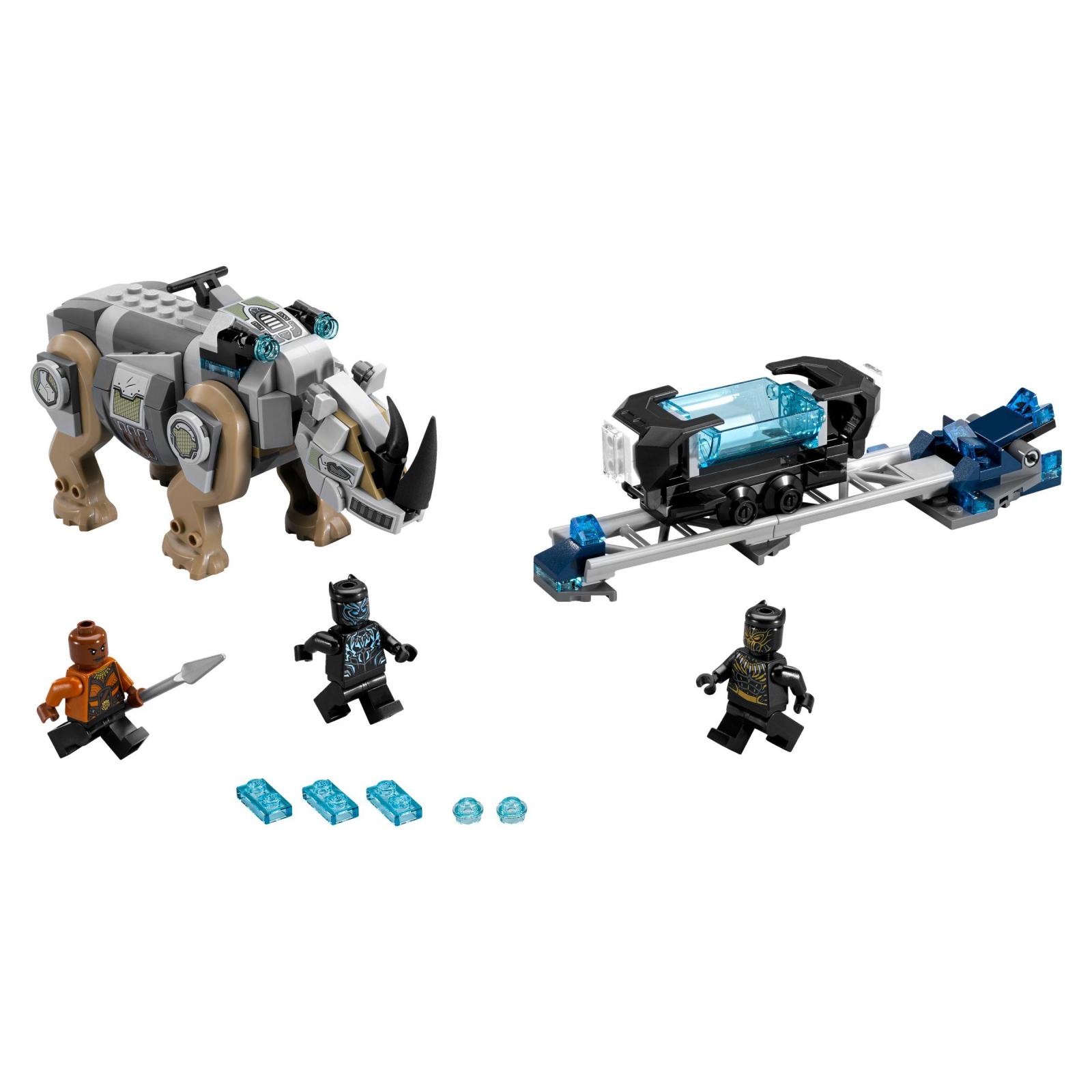 Конструктор LEGO Super Heroes Схватка с носорогом у шахты (76099) изображение 2