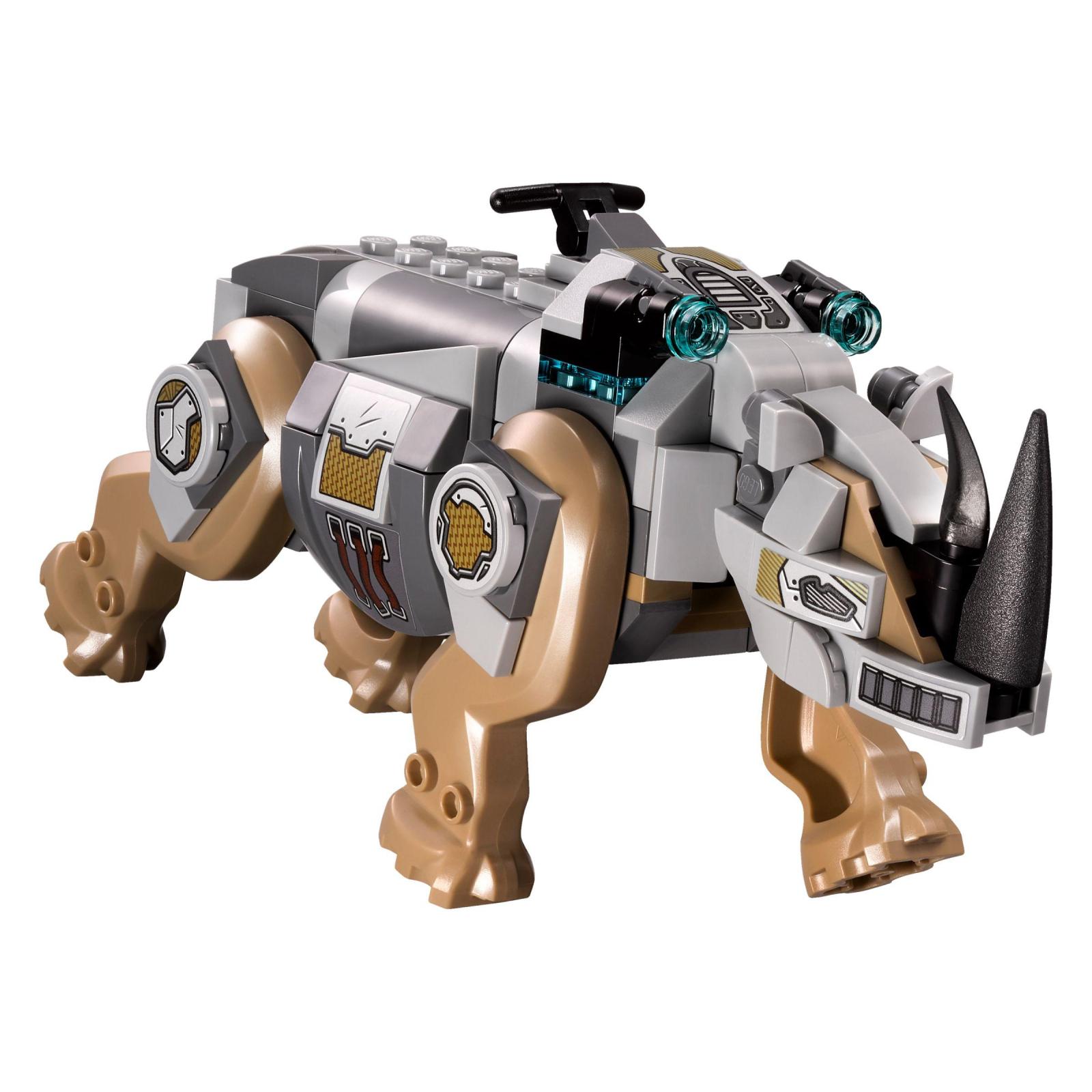 Конструктор LEGO Super Heroes Схватка с носорогом у шахты (76099) изображение 4