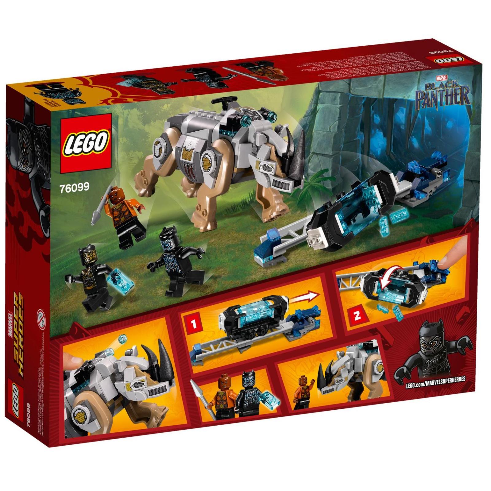Конструктор LEGO Super Heroes Схватка с носорогом у шахты (76099) изображение 9