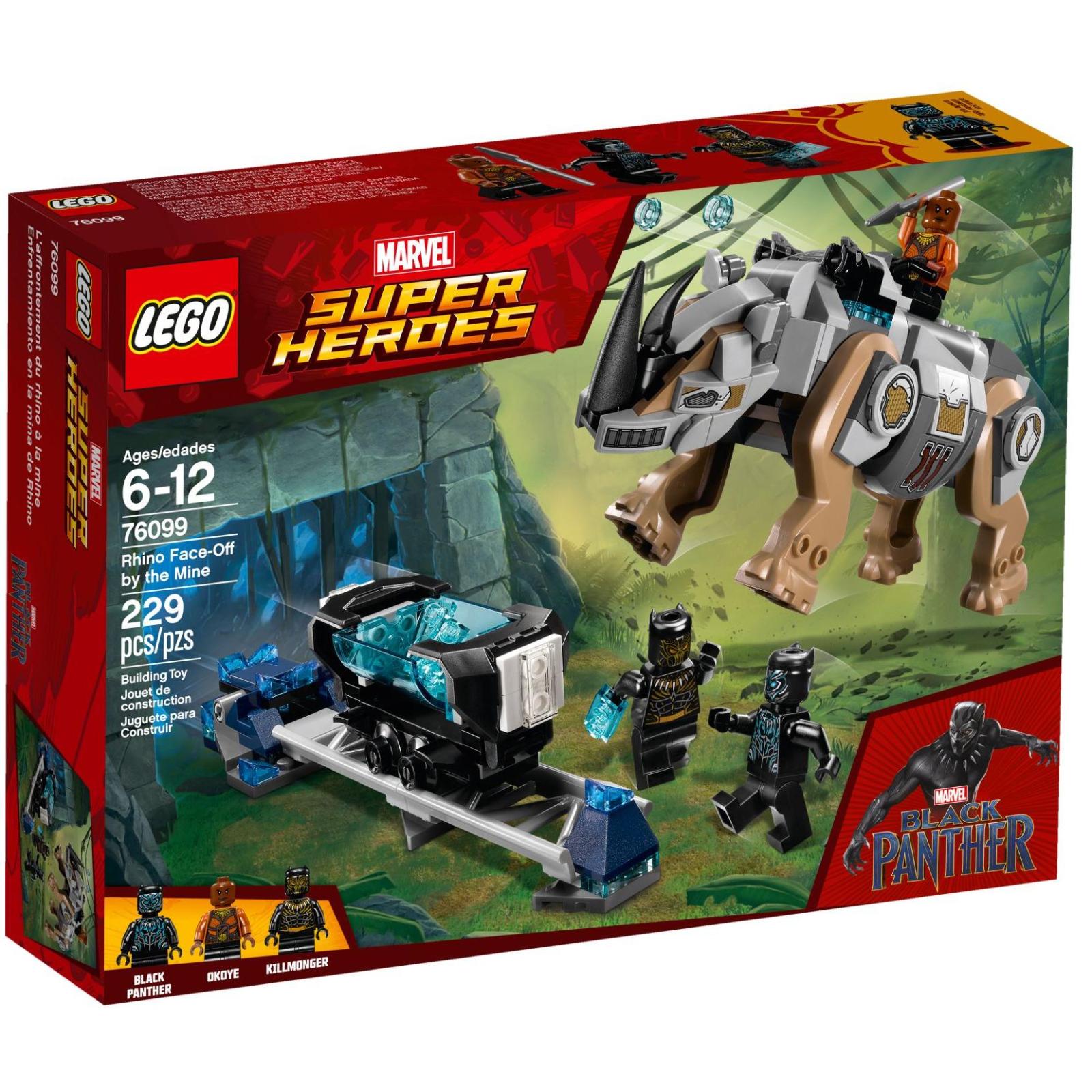 Конструктор LEGO Super Heroes Схватка с носорогом у шахты (76099)