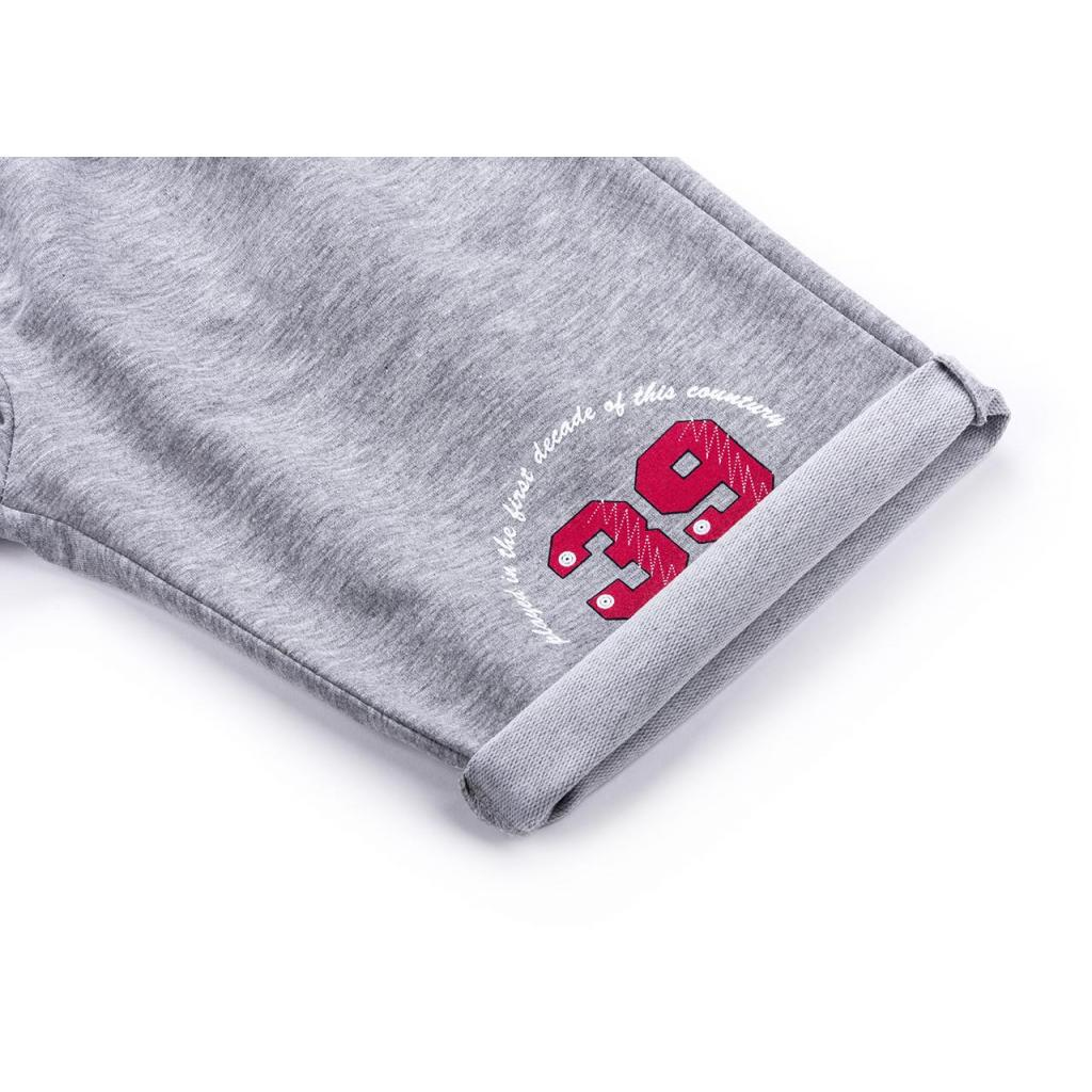 Шорты Breeze трикотажные с карманами (10755-128B-gray) изображение 4