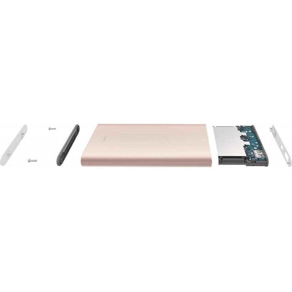 Батарея универсальная Xiaomi Mi Power bank Pro 10000mAh Type-C QC3.0 Gold (VXN4195US) изображение 7