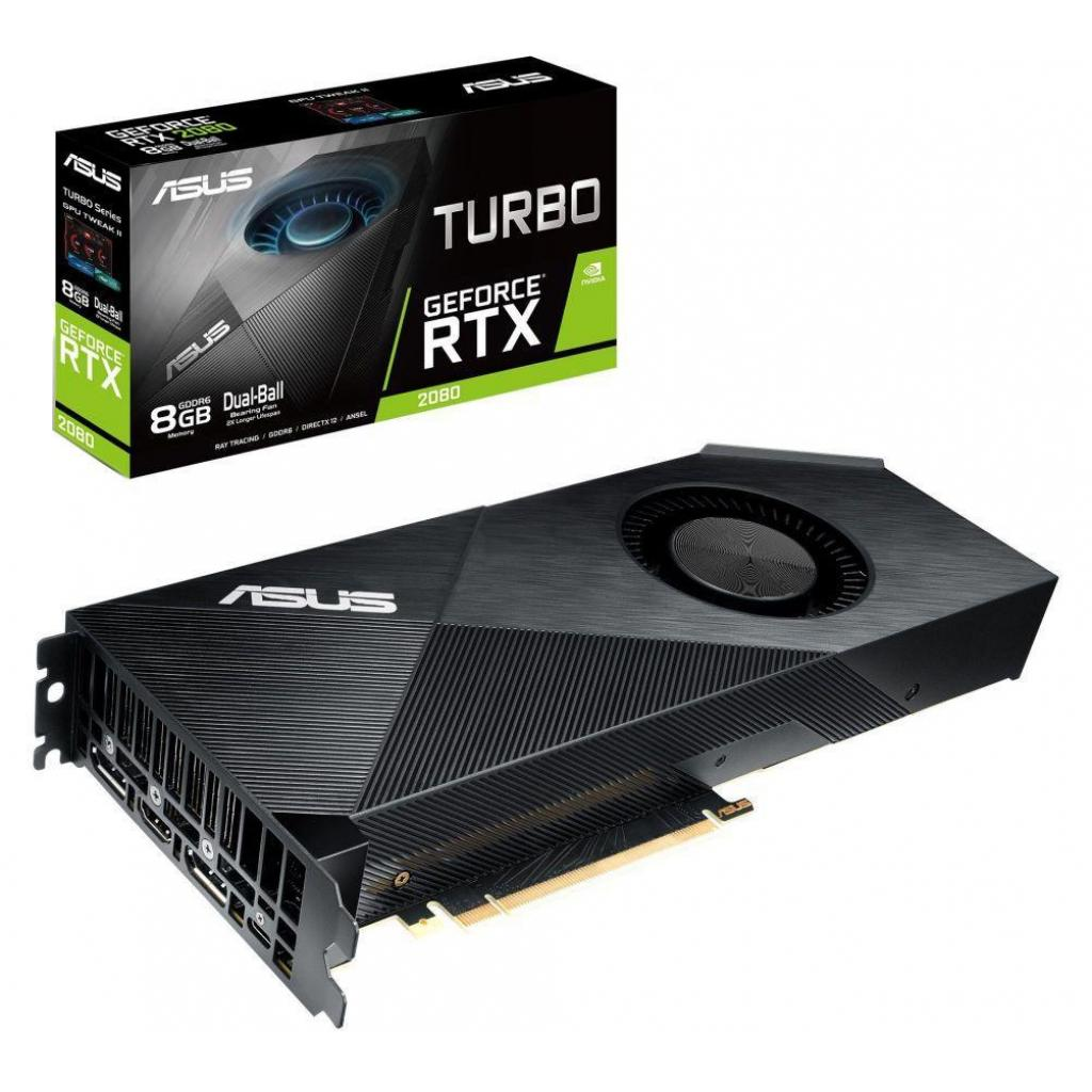 Видеокарта ASUS GeForce RTX2080 8192Mb TURBO (TURBO-RTX2080-8G)