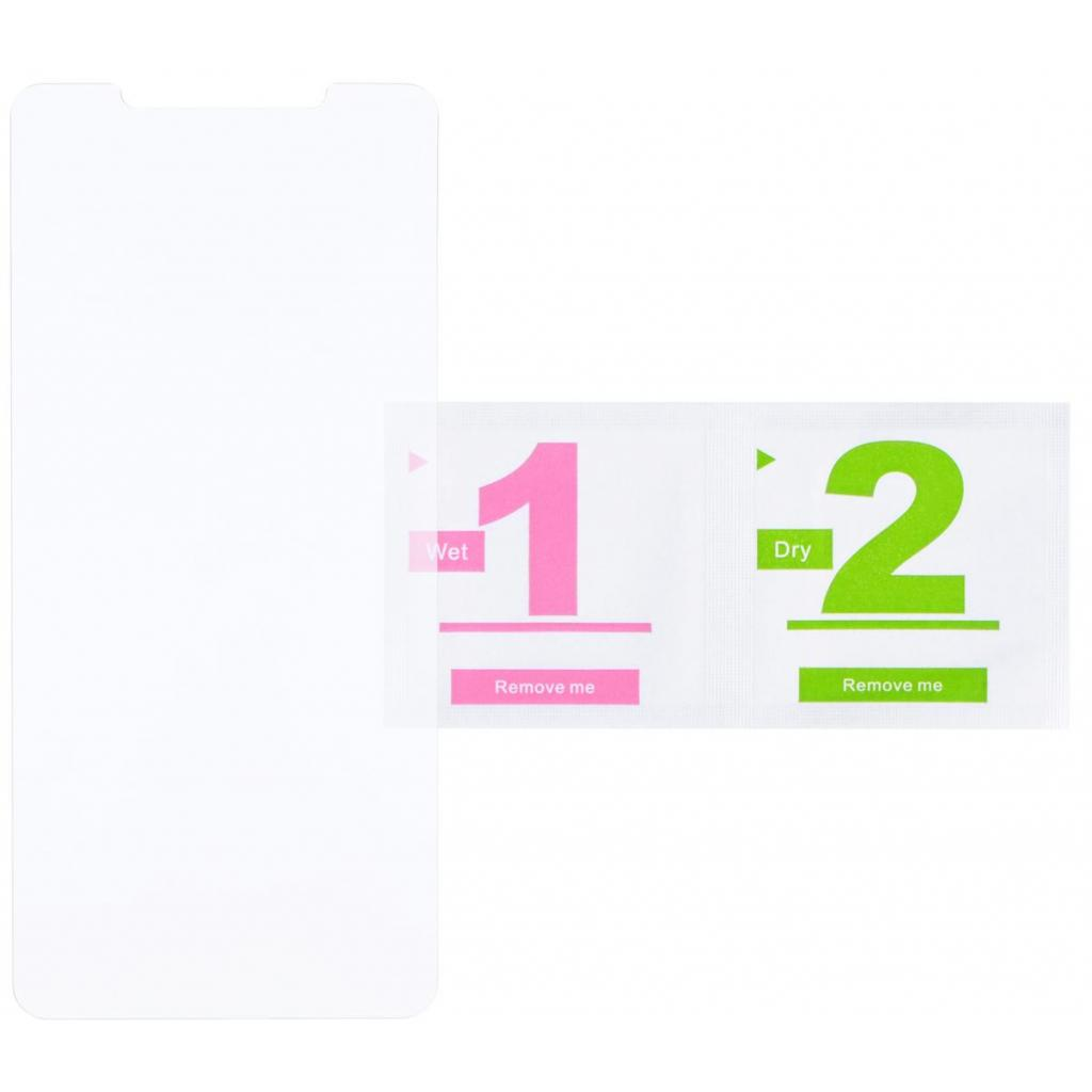 Стекло защитное 2E для Xiaomi Mi 8 2.5D Clear (2E-TGMI-MI8-25D) изображение 2