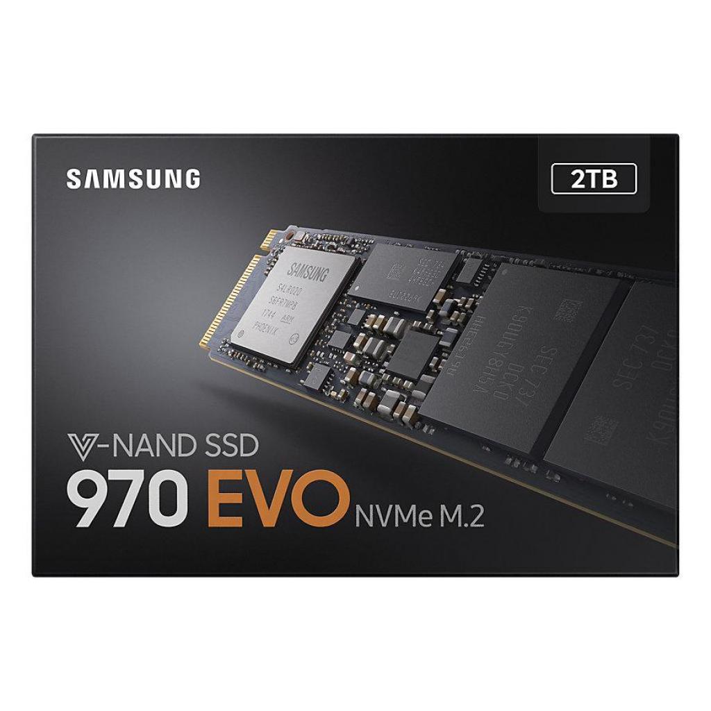 Накопитель SSD M.2 2280 2TB Samsung (MZ-V7E2T0BW) изображение 5