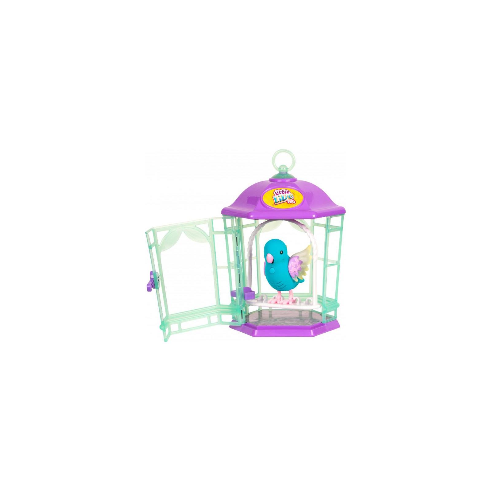 Интерактивная игрушка Moose Птичка в клетке Little Live Pets Skye Twinkles (28548) изображение 2