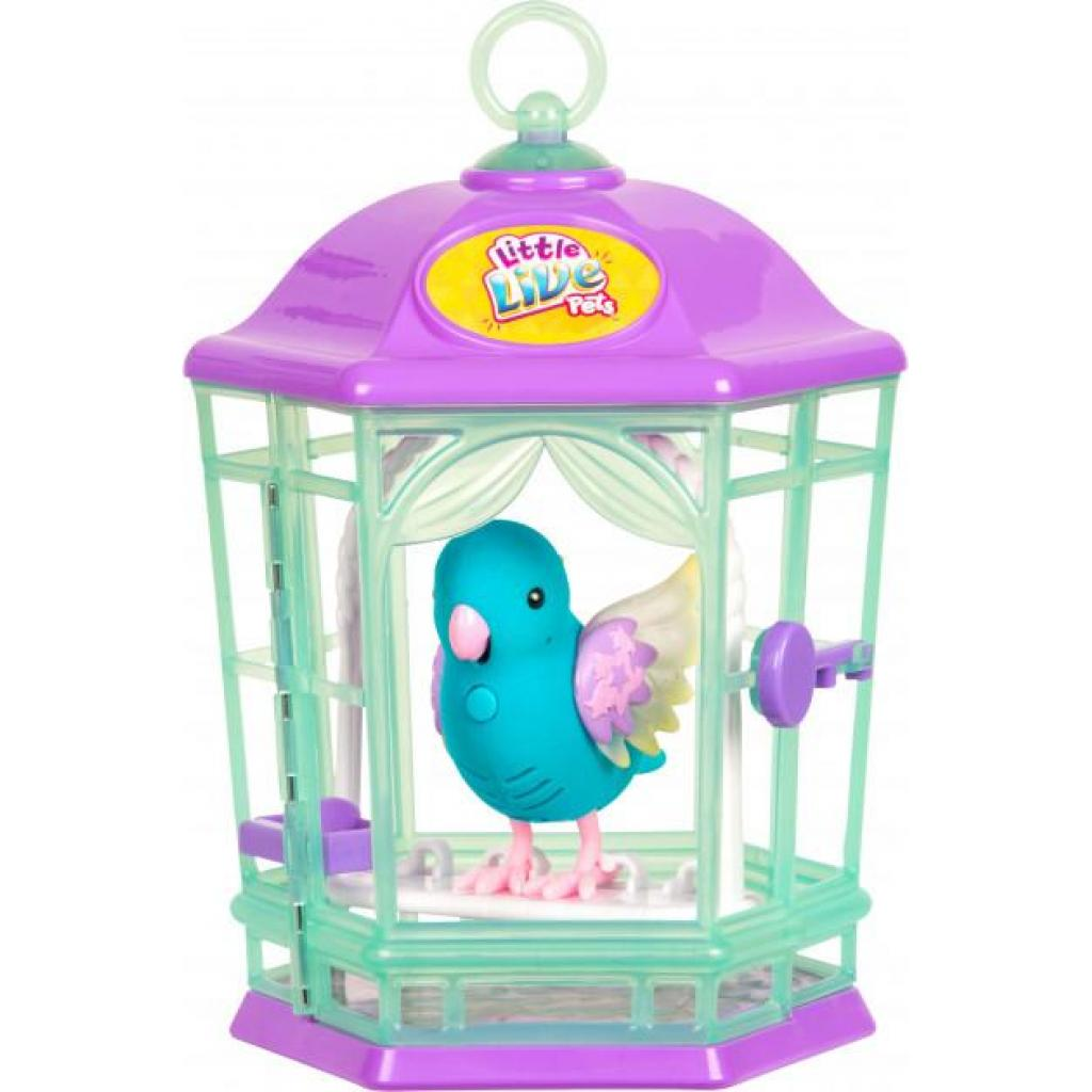 Интерактивная игрушка Moose Птичка в клетке Little Live Pets Skye Twinkles (28548)