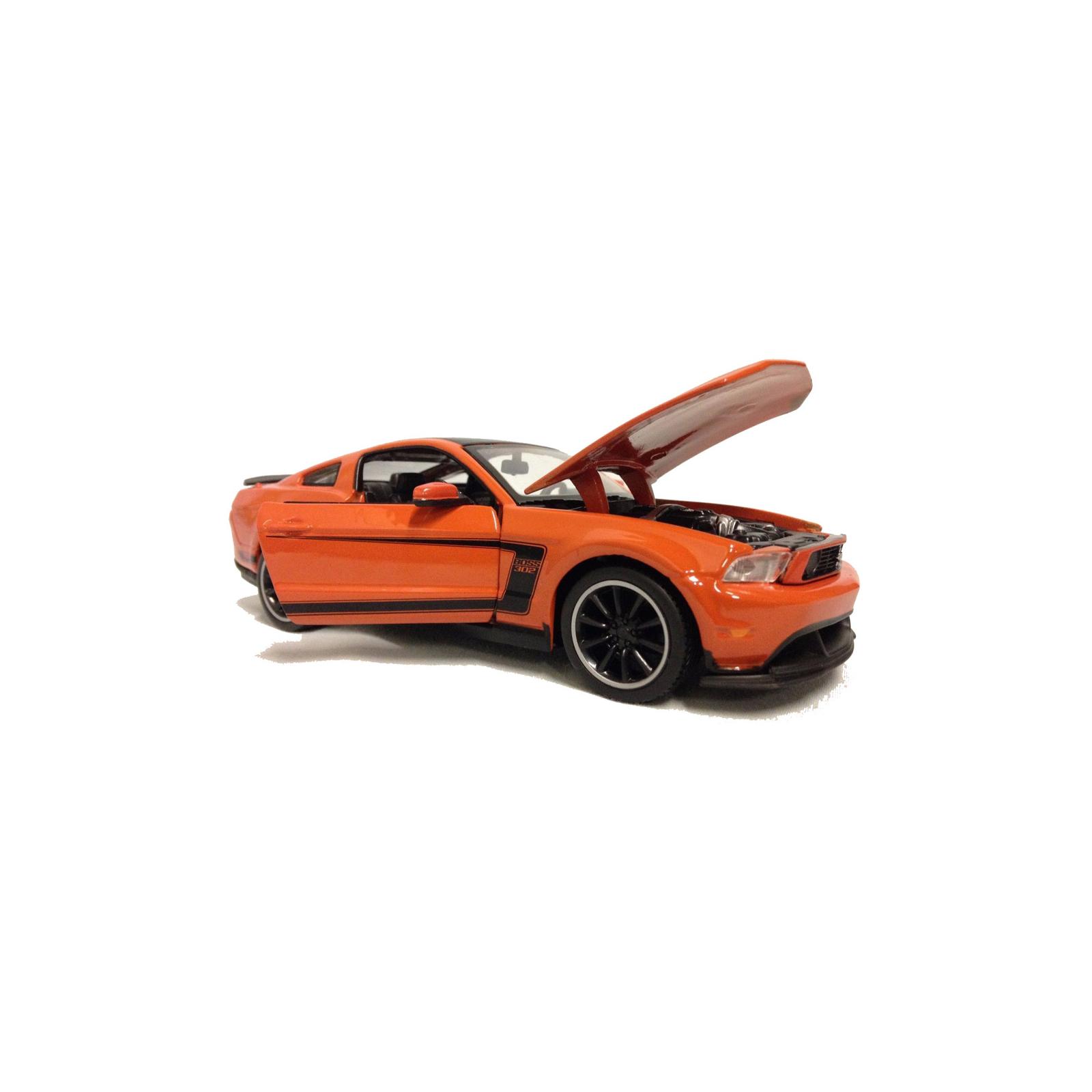 Машина Maisto Ford Mustang Boss 302 (1:24) оражевый (31269 orange) изображение 4