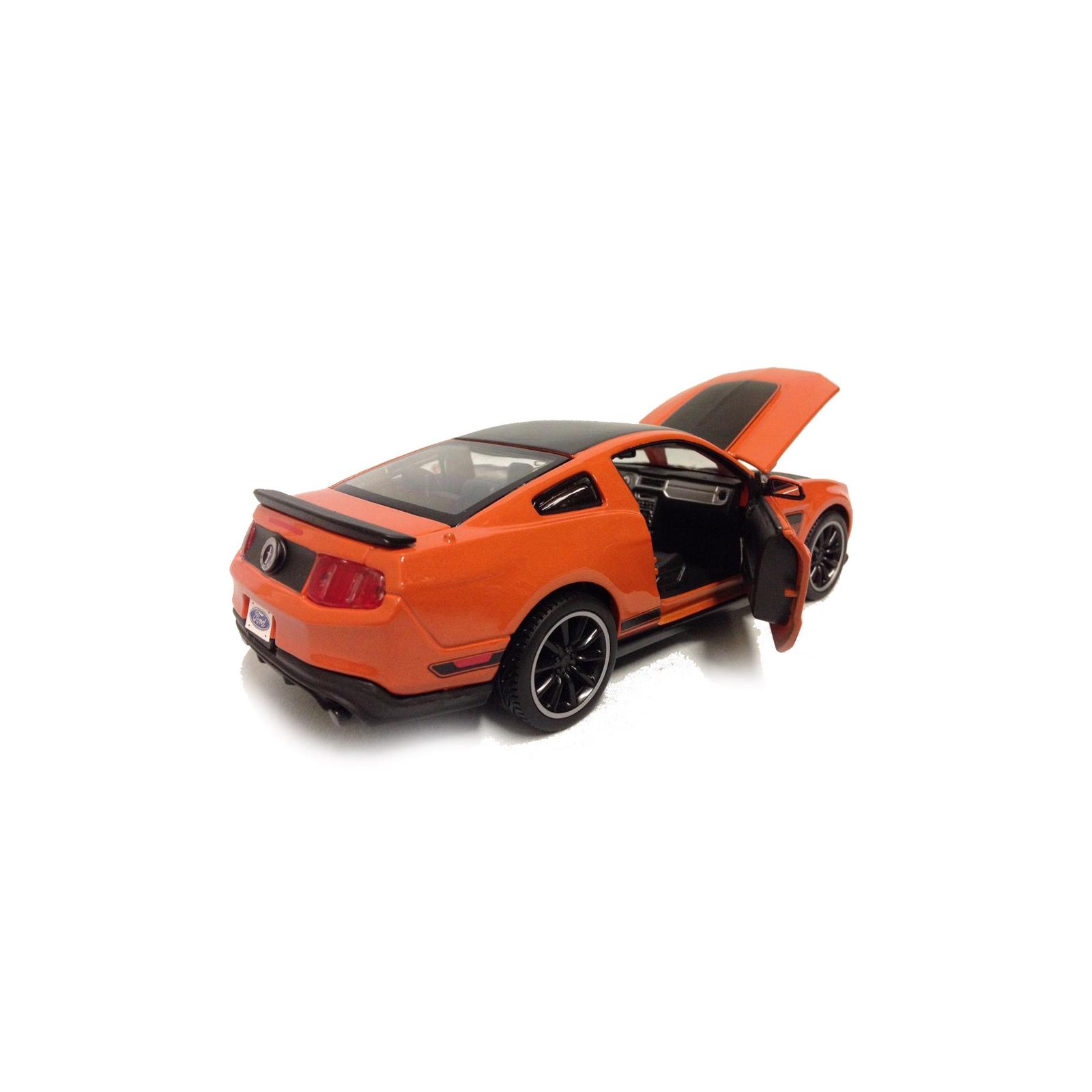 Машина Maisto Ford Mustang Boss 302 (1:24) оражевый (31269 orange) изображение 5