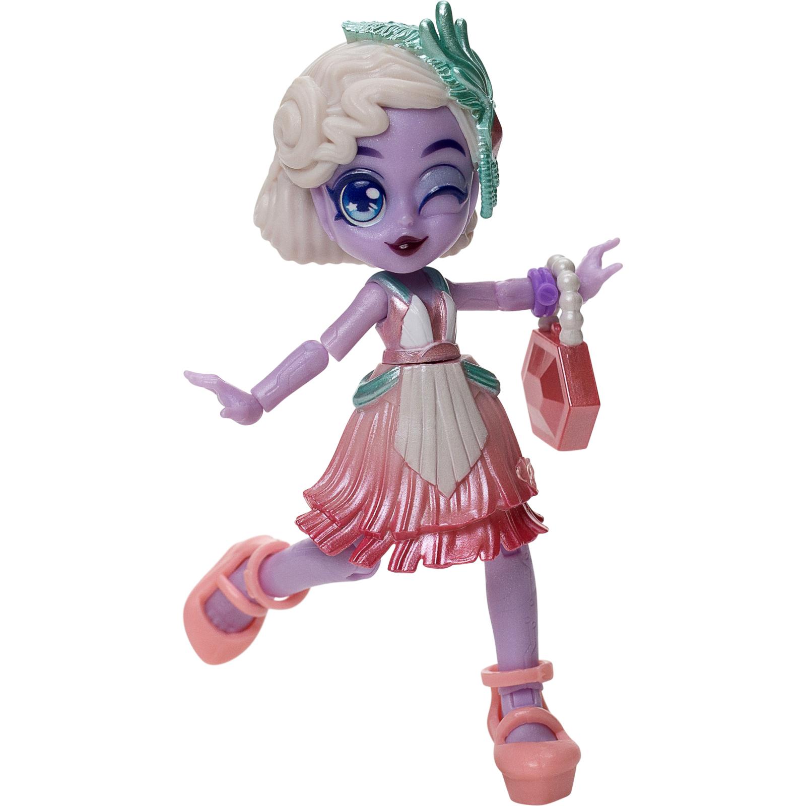 Игровой набор Moose сюрприз Capsule Chix Giga Glam с куклой (59201) изображение 3