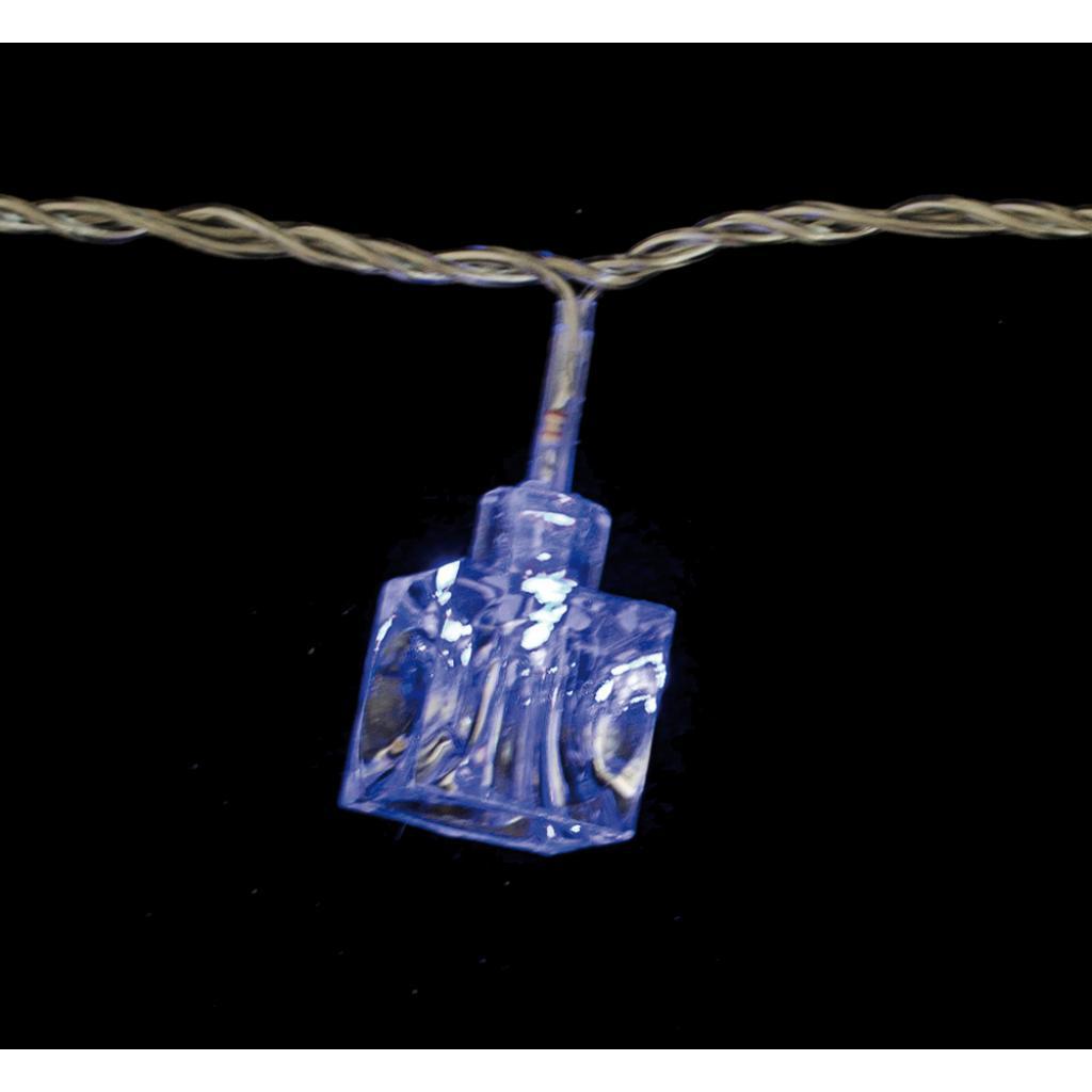 Гирлянда YES! Fun светодиодная Льдинка 30 ламп, голубая, 3м (800723)