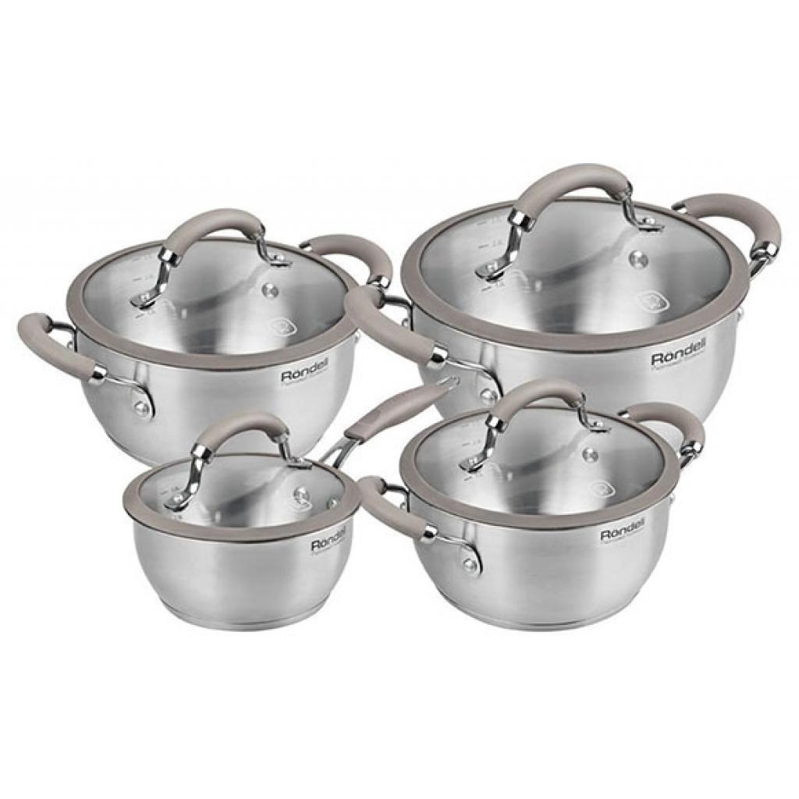 Набор посуды Rondell Balance 8 предметов (RDS-756)