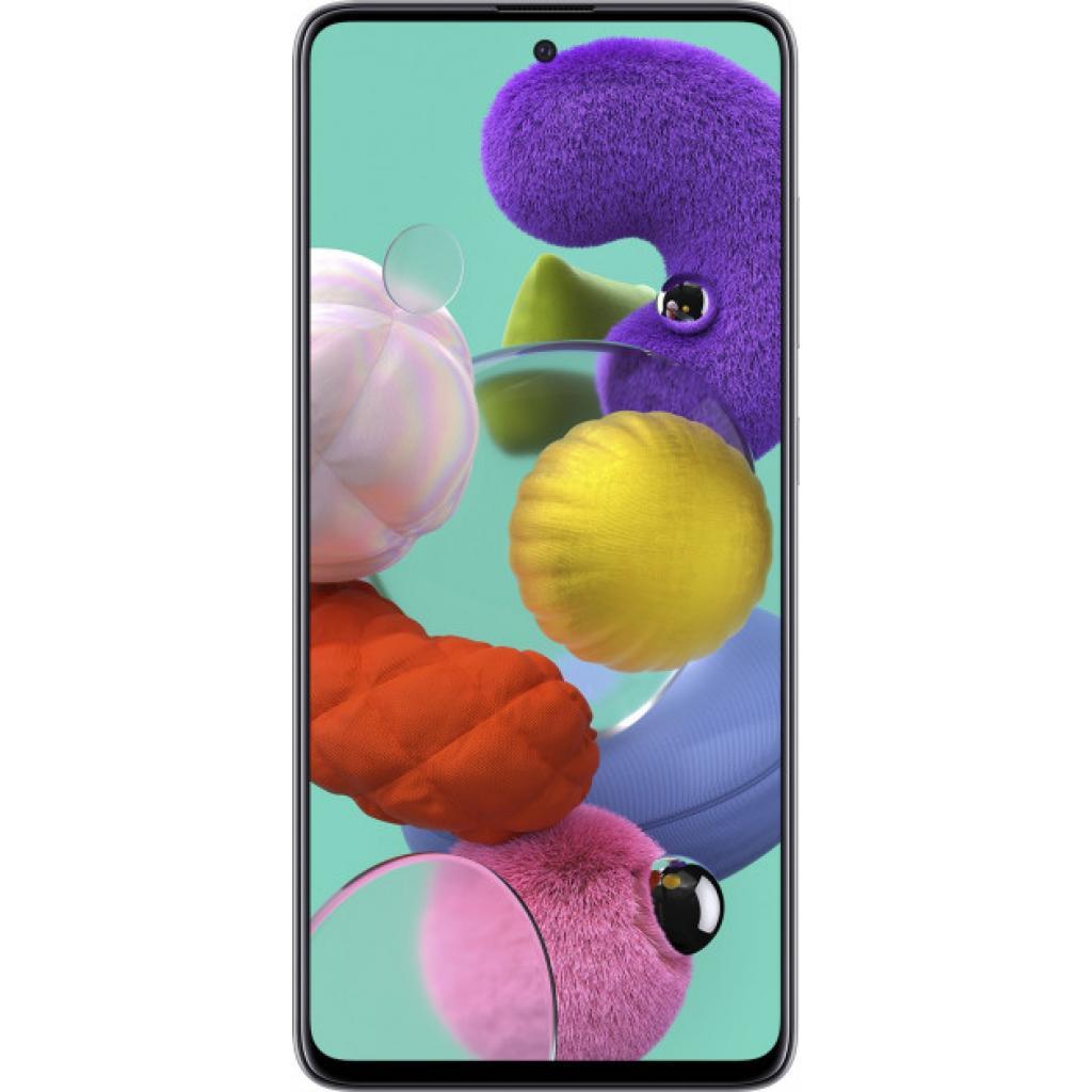 Мобільний телефон Samsung SM-A515FZ (Galaxy A51 4/64Gb) Metallic Silver (SM-A515FMSUSEK)