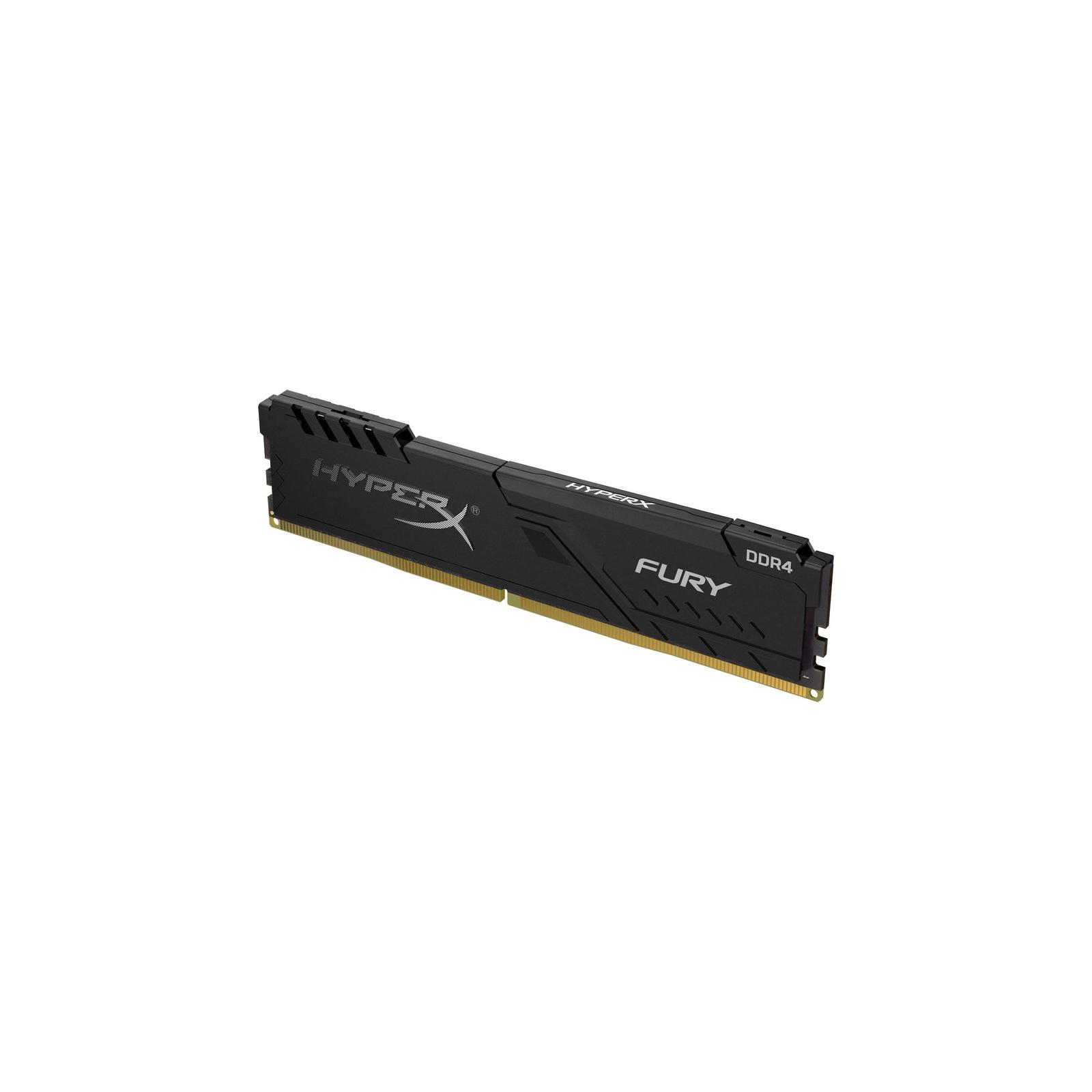 Модуль пам'яті для комп'ютера DDR4 16GB 3200 MHz Fury Black Kingston (HX432C16FB4/16) зображення 2