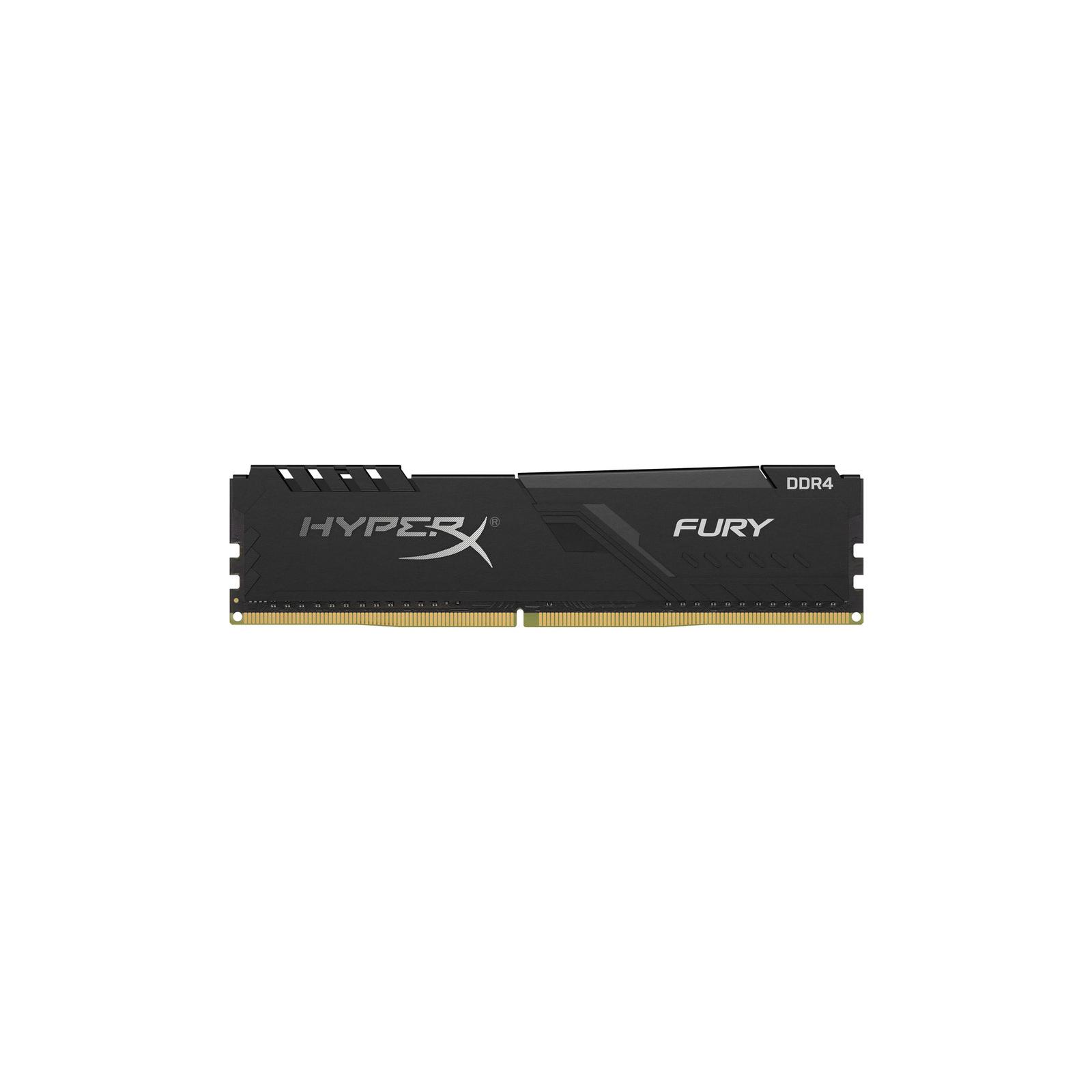 Модуль пам'яті для комп'ютера DDR4 16GB 3200 MHz Fury Black Kingston (HX432C16FB4/16)