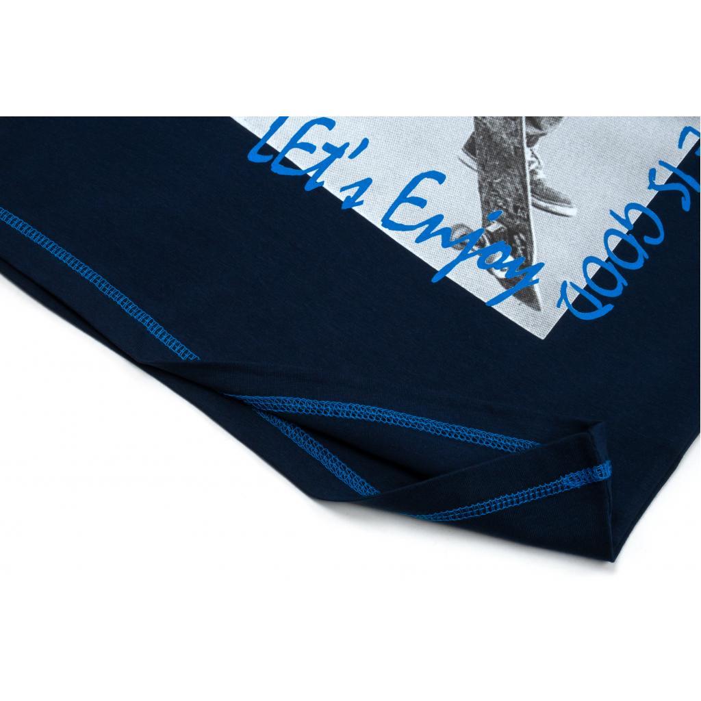 """Футболка детская Breeze """"TRICK"""" (15692-134B-blue) изображение 4"""