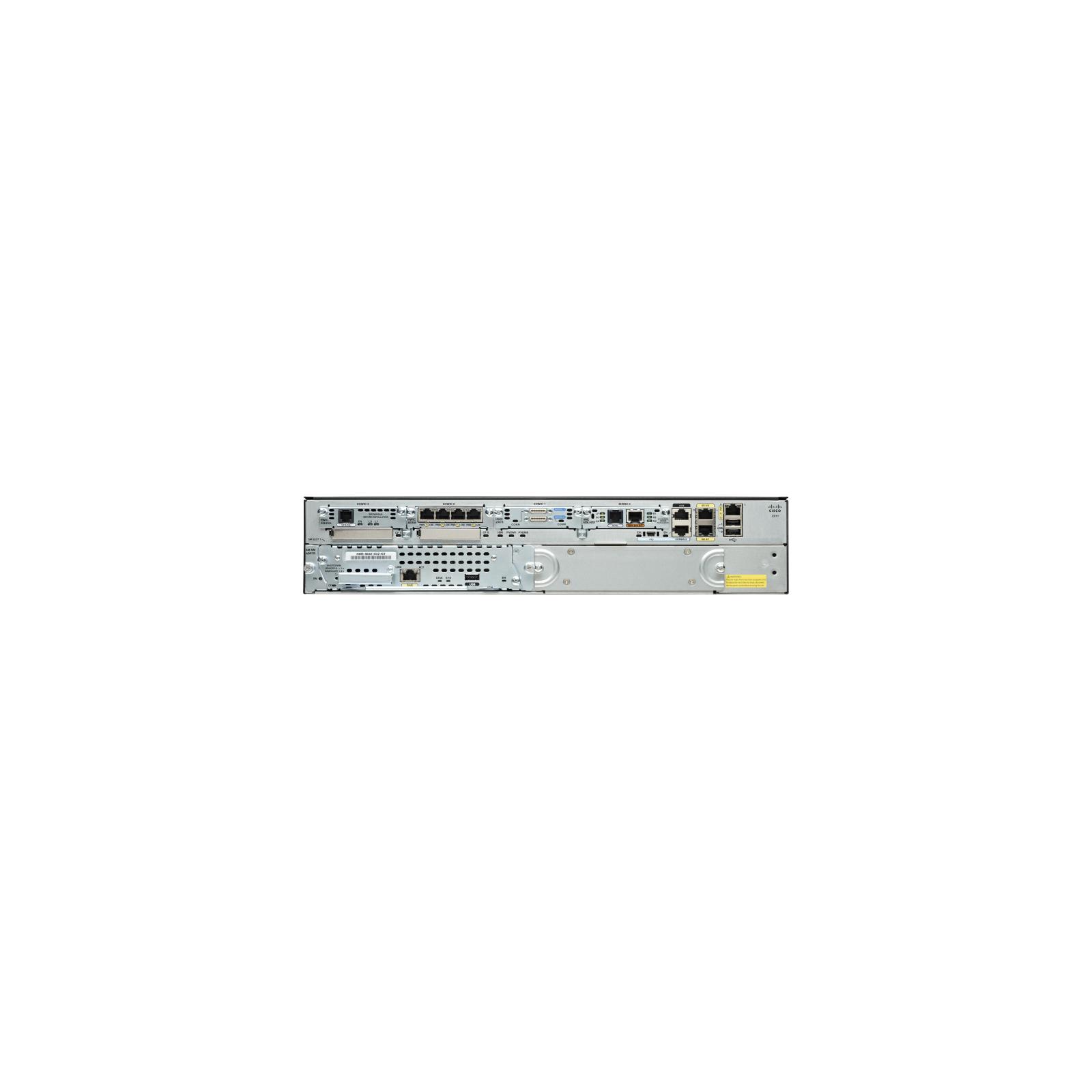 Маршрутизатор Cisco CISCO2911/K9 изображение 2