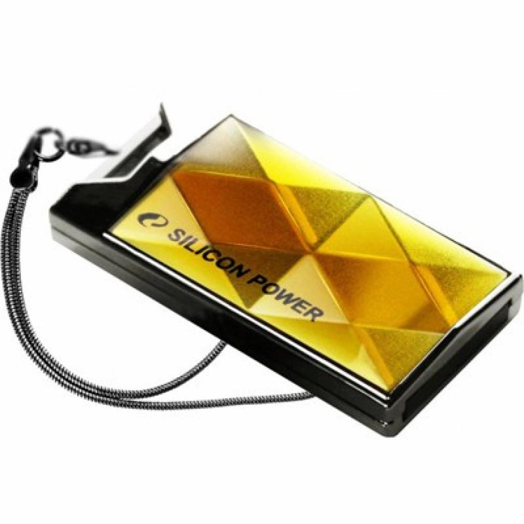 USB флеш накопитель Silicon Power 8Gb 850 amber (SP008GBUF2850V1A)