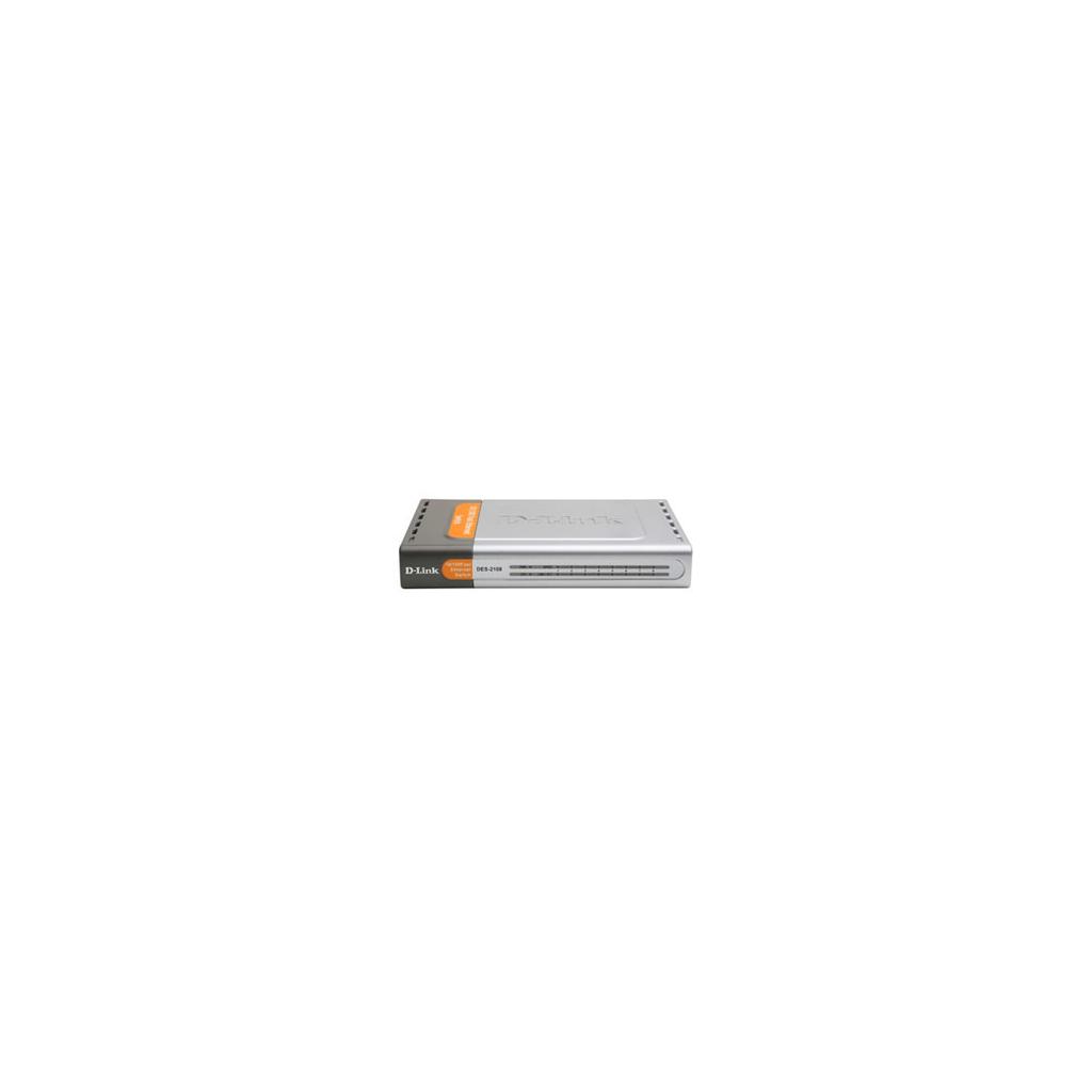 Коммутатор сетевой D-Link DES-2108/E/B