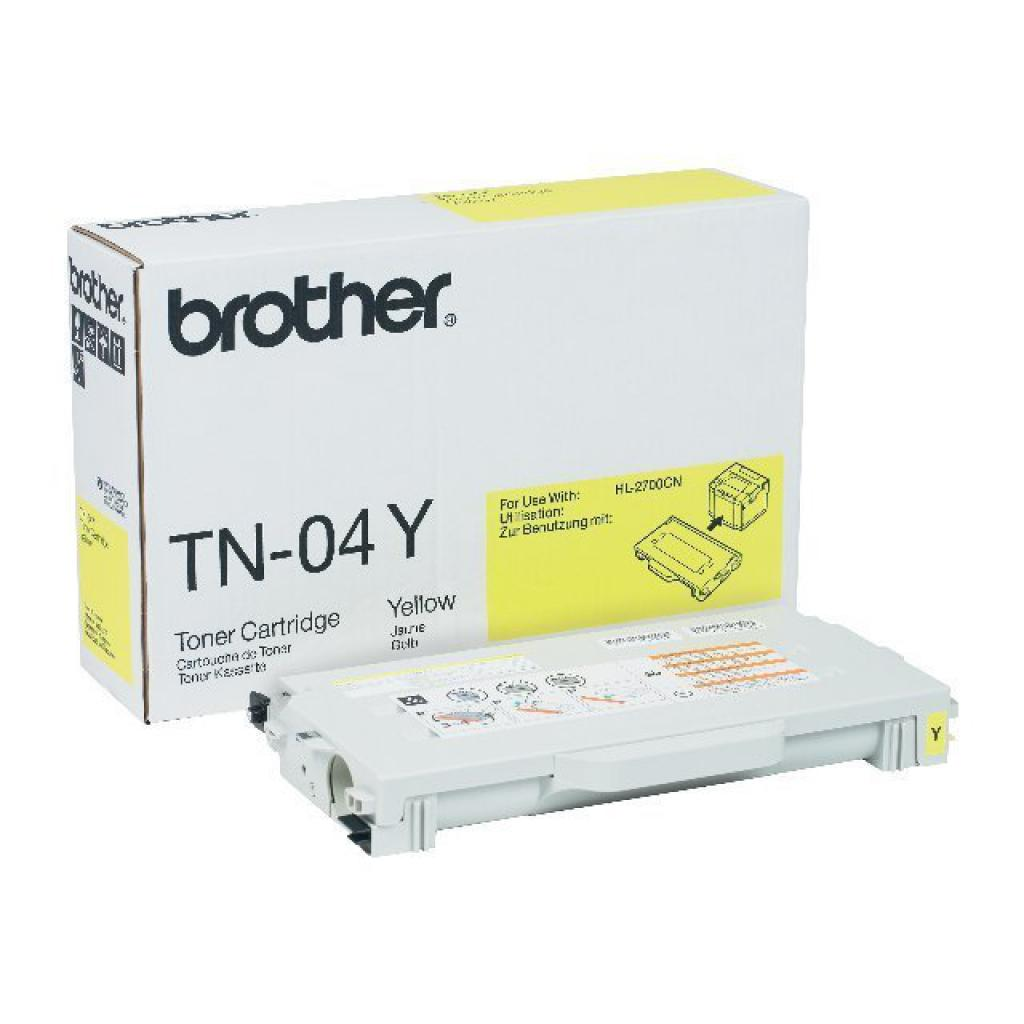 Картридж Brother для HL-2700CN, MFC-9420CN Yellow (TN04Y)