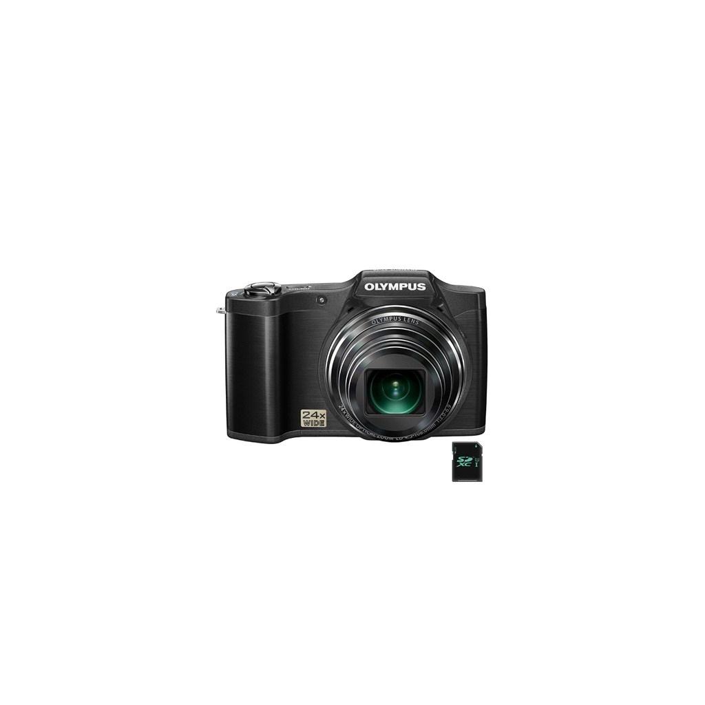 Цифровой фотоаппарат OLYMPUS SZ-14 black (V102080BE000)