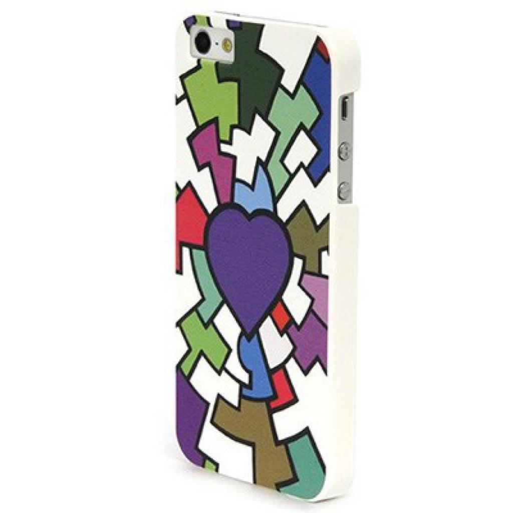 Чехол для моб. телефона Tucano iPhone 5 /Cuore by Leo (IPH5BL-CUV)