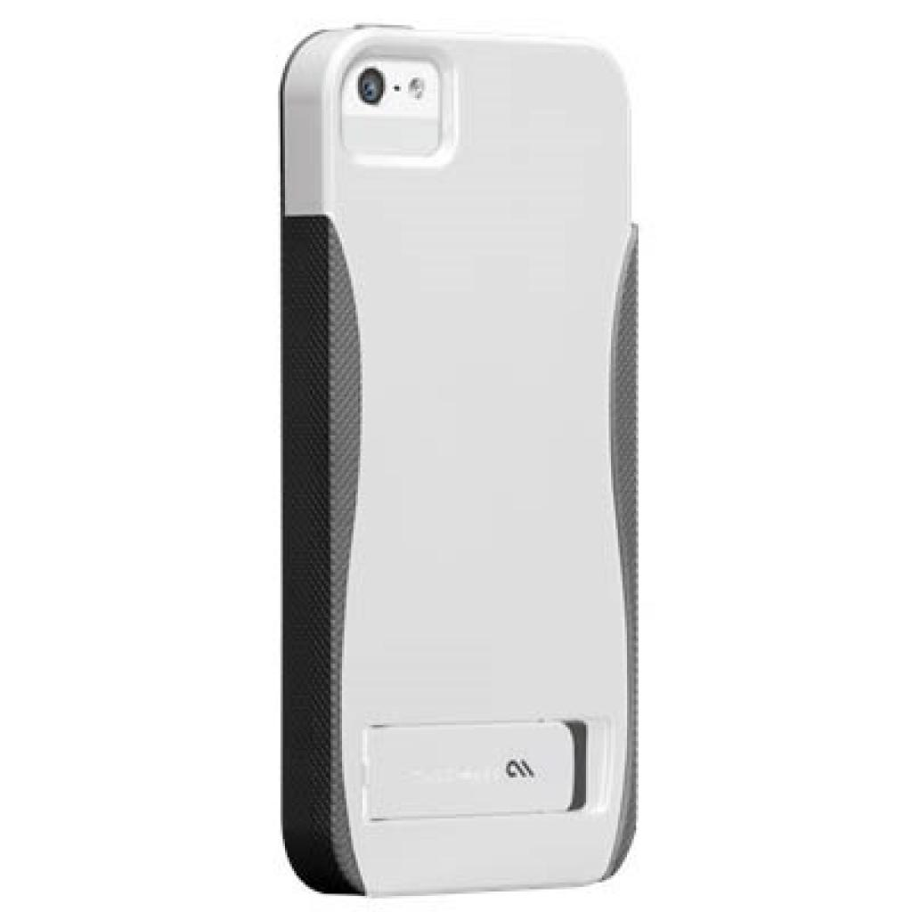 Чехол для моб. телефона CellularLine Case-Mate iPhone 5 POP w/stand-wht/tit (CM022368)