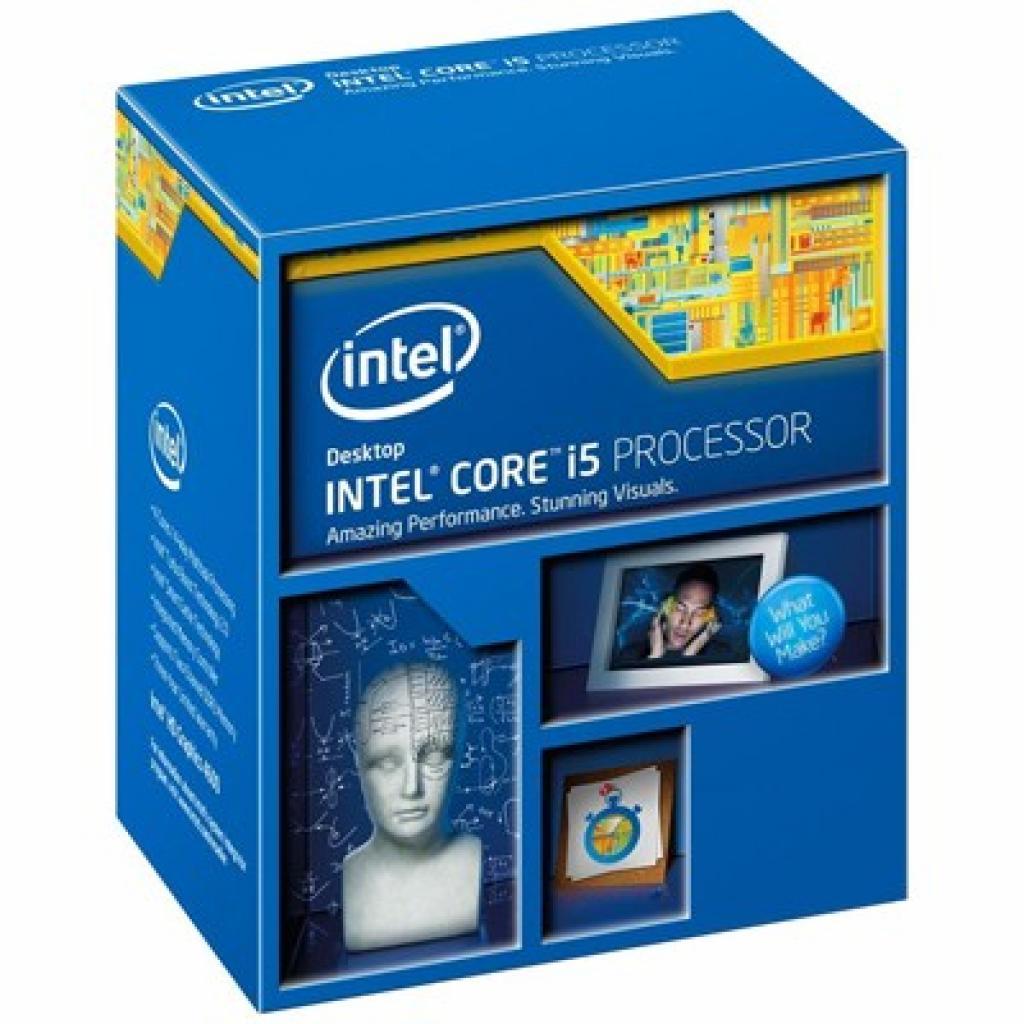 Процессор INTEL Core™ i5 4670K (BX80646I54670K)