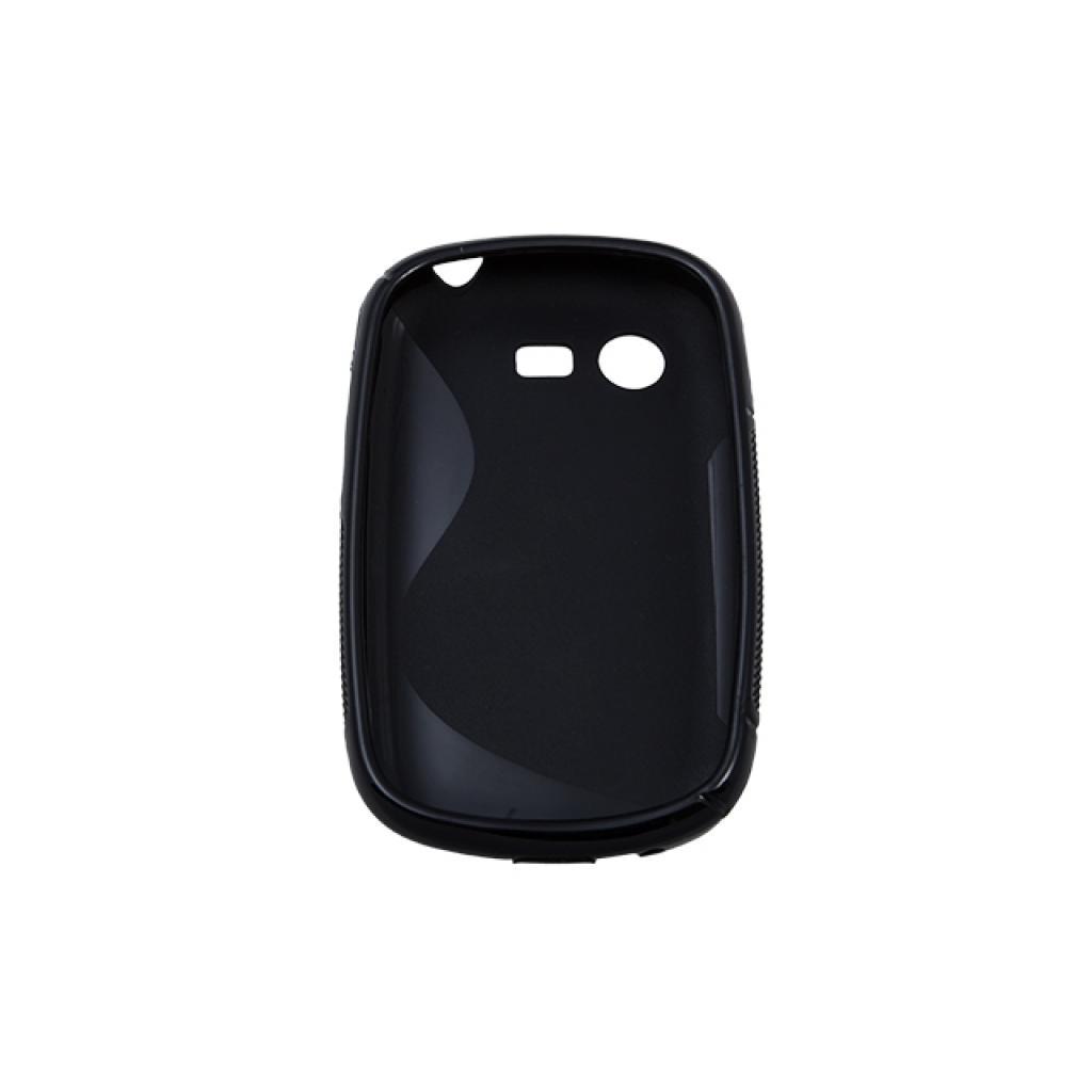 Чехол для моб. телефона Drobak для Samsung S5282 Galaxy Star /Elastic PU/Black (215215) изображение 2