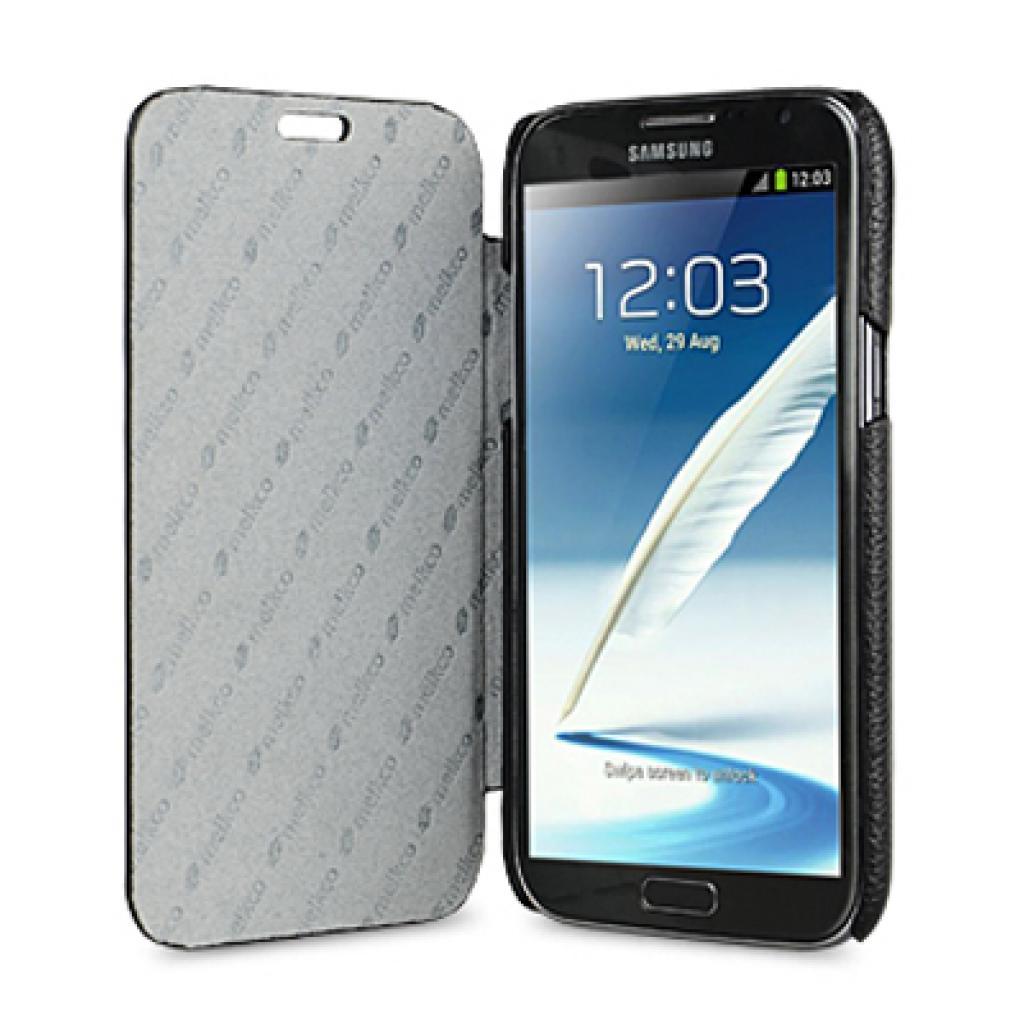 Чехол для моб. телефона Melkco для Samsung N7100 Galaxy Note 2 black Book Type (SSNO71LCFB2BKLC) изображение 3