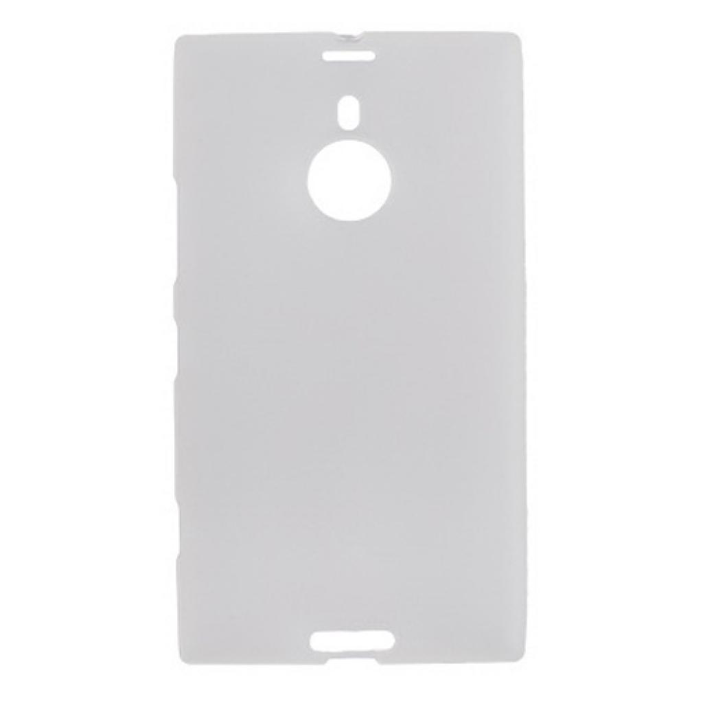 Чехол для моб. телефона Drobak для Nokia 1520 Lumia /ElasticPU/WhiteClear (216393)