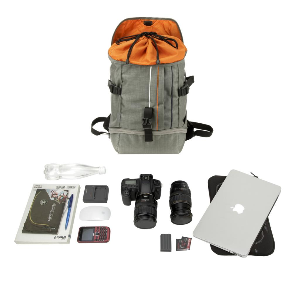 Рюкзак для фототехники Crumpler Jackpack Half Photo System Backpack /dull black (JPHSBP-001) изображение 4