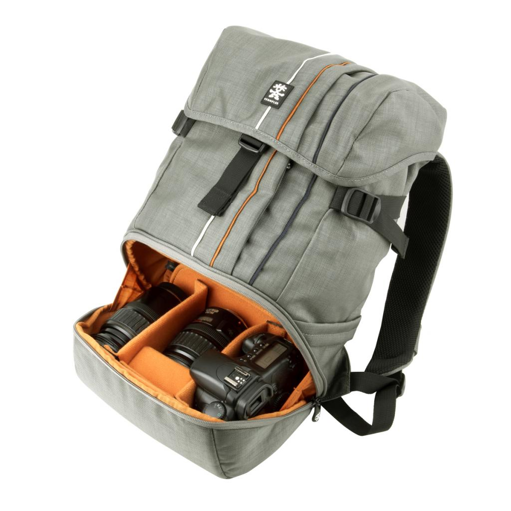 Рюкзак для фототехники Crumpler Jackpack Half Photo System Backpack /dull black (JPHSBP-001) изображение 6