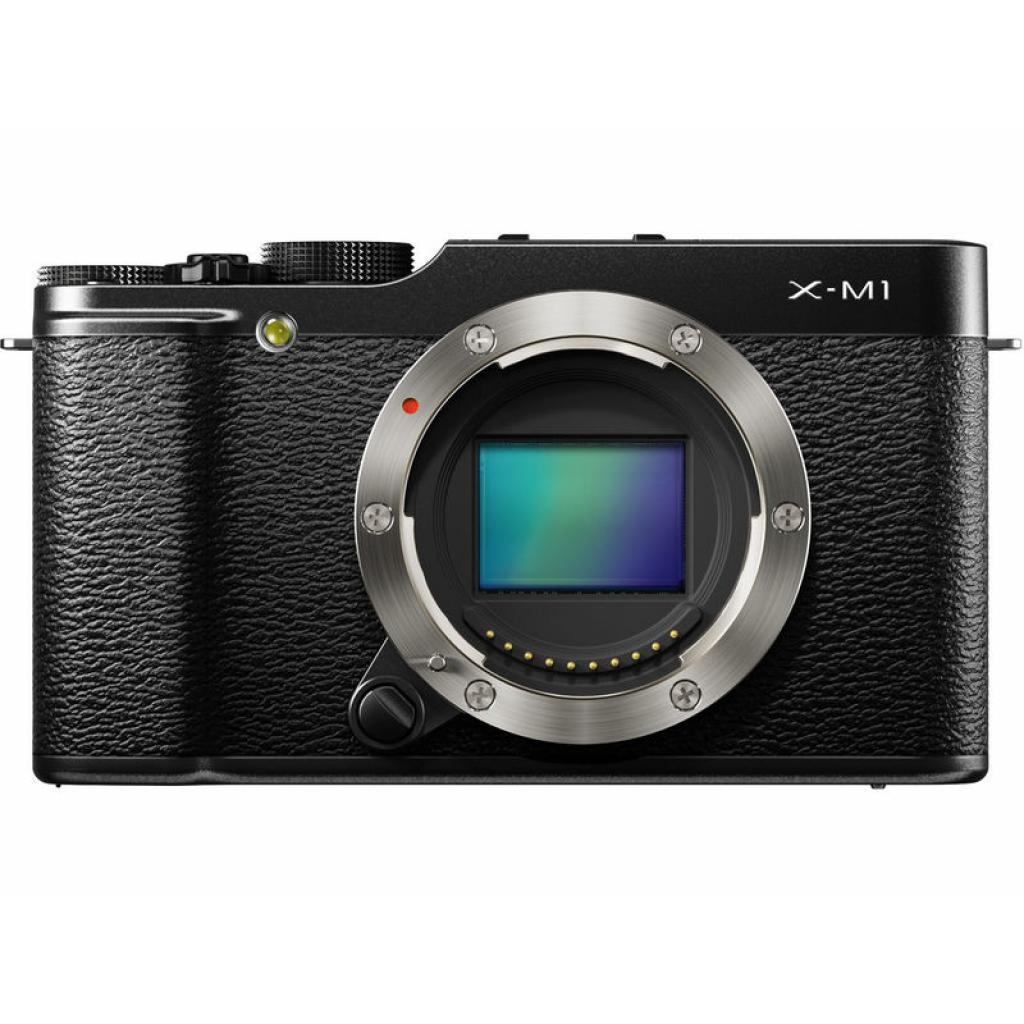 Цифровой фотоаппарат Fujifilm FinePix X-M1 body black (16389965)