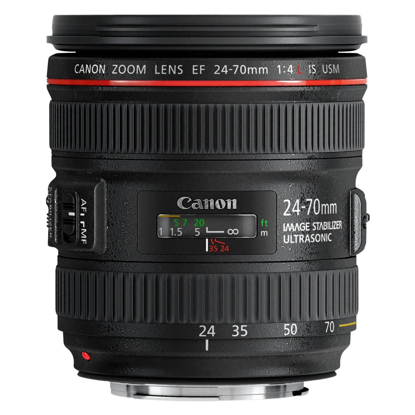 Объектив Canon EF 24-70 F4L IS USM изображение 3