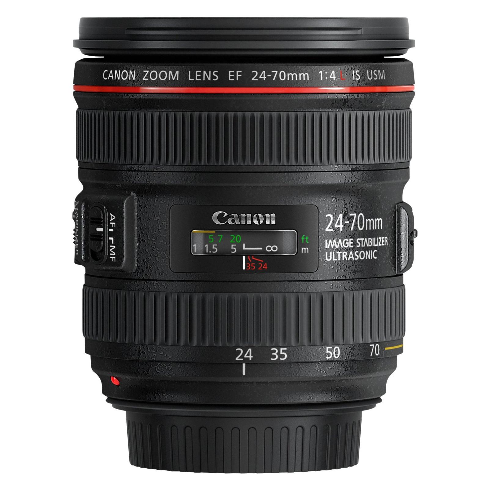 Объектив Canon EF 24-70 F4L IS USM изображение 4