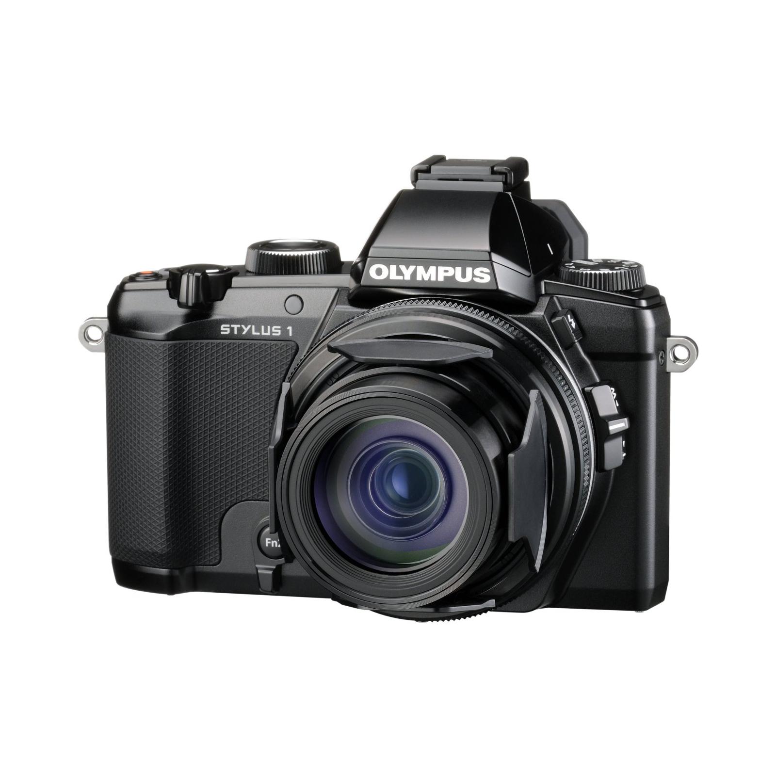 Цифровой фотоаппарат OLYMPUS STYLUS 1 Black (V109010BE000) изображение 2