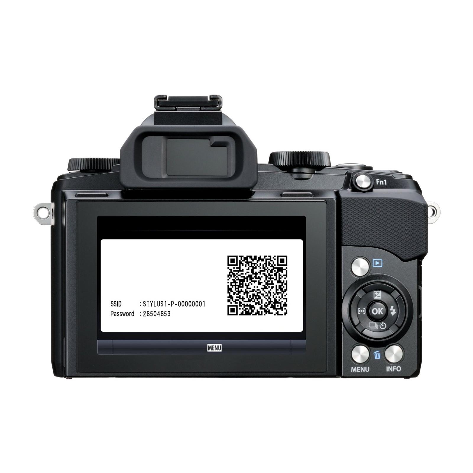 Цифровой фотоаппарат OLYMPUS STYLUS 1 Black (V109010BE000) изображение 5