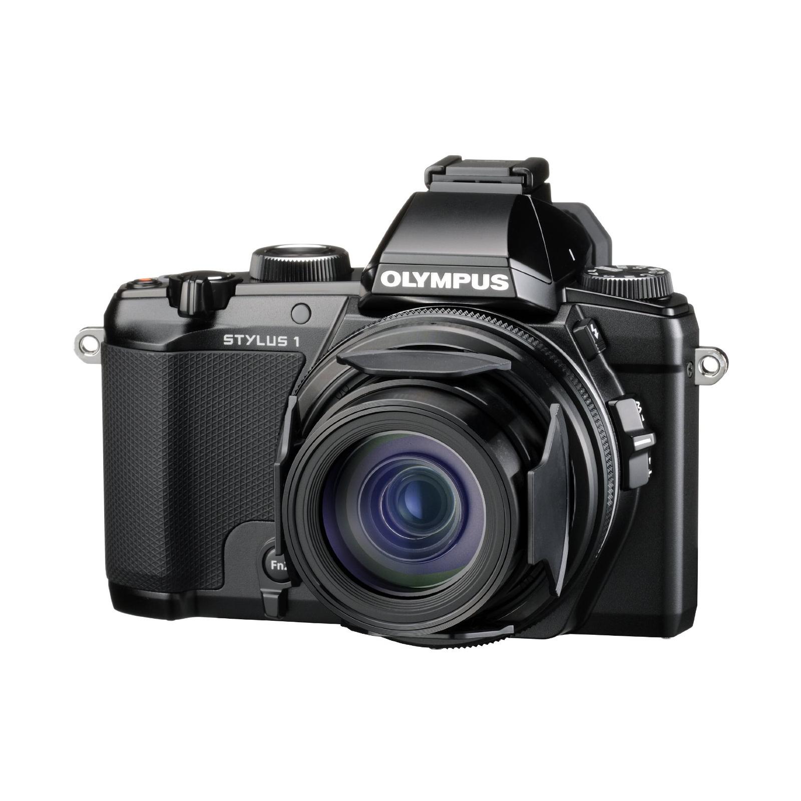 Цифровой фотоаппарат OLYMPUS STYLUS 1 Black (V109010BE000) изображение 6
