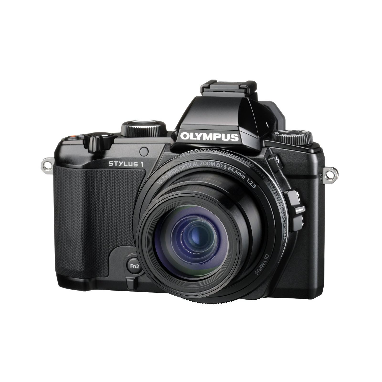 Цифровой фотоаппарат OLYMPUS STYLUS 1 Black (V109010BE000) изображение 7